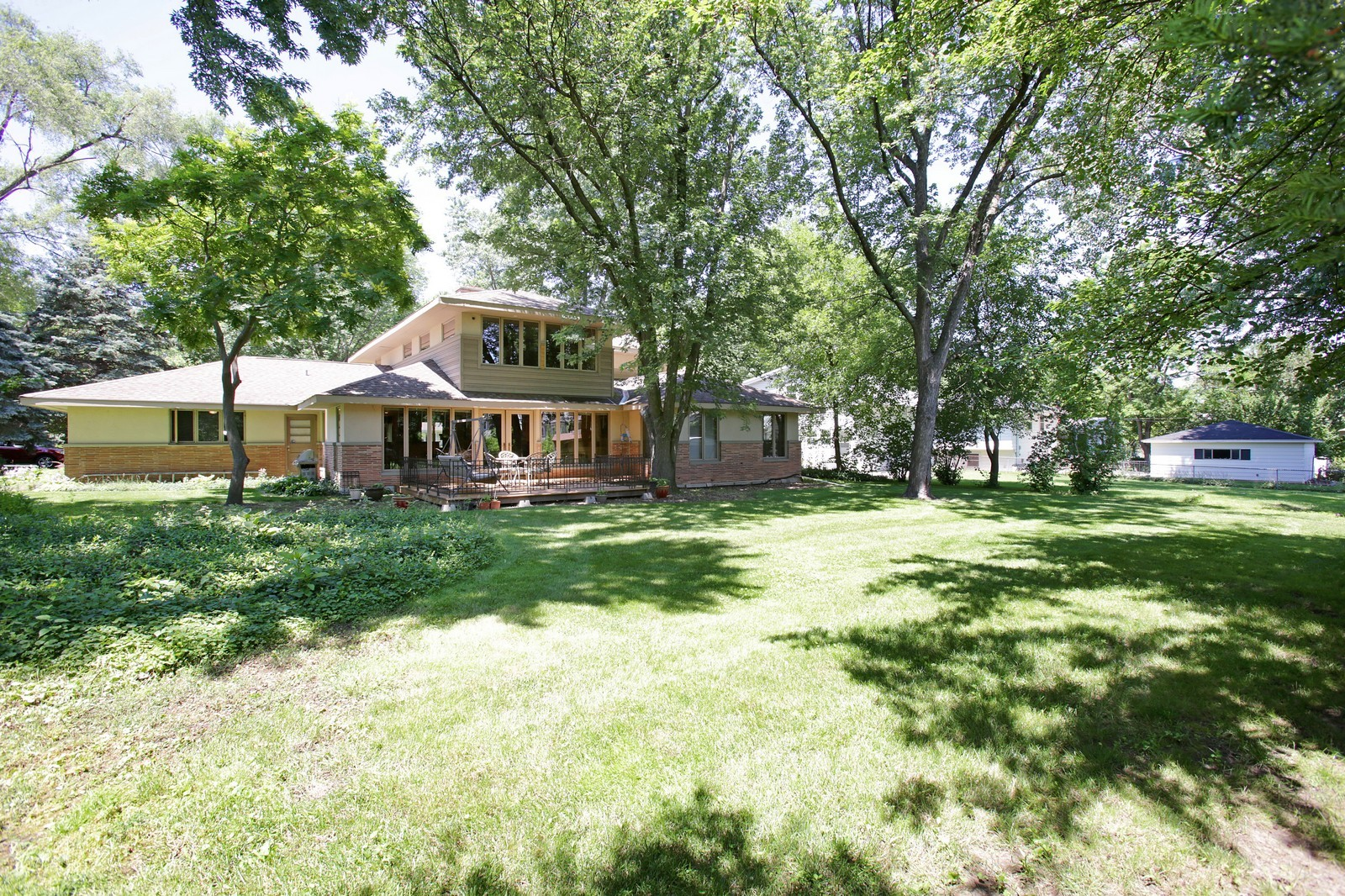 Real Estate Photography - 4107 Washington St, Downers Grove, IL, 60515 - Rear View