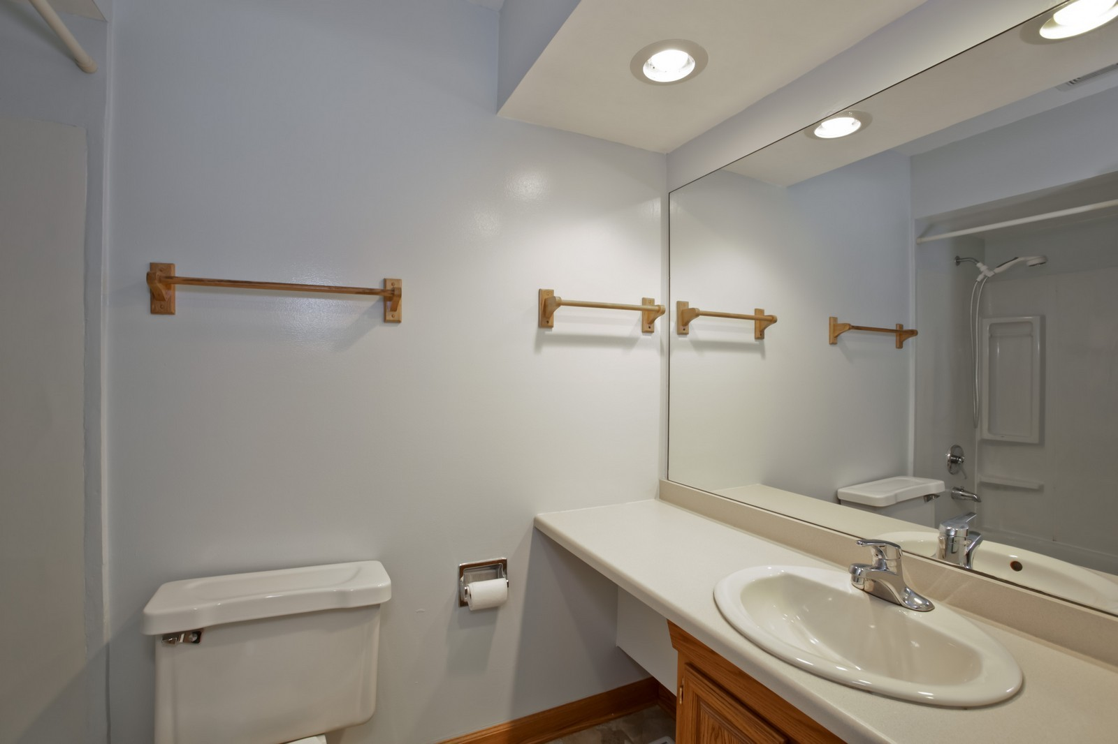 Real Estate Photography - 2811 Hobson Rd, Unit 3, Woodridge, IL, 60517 - Master Bathroom