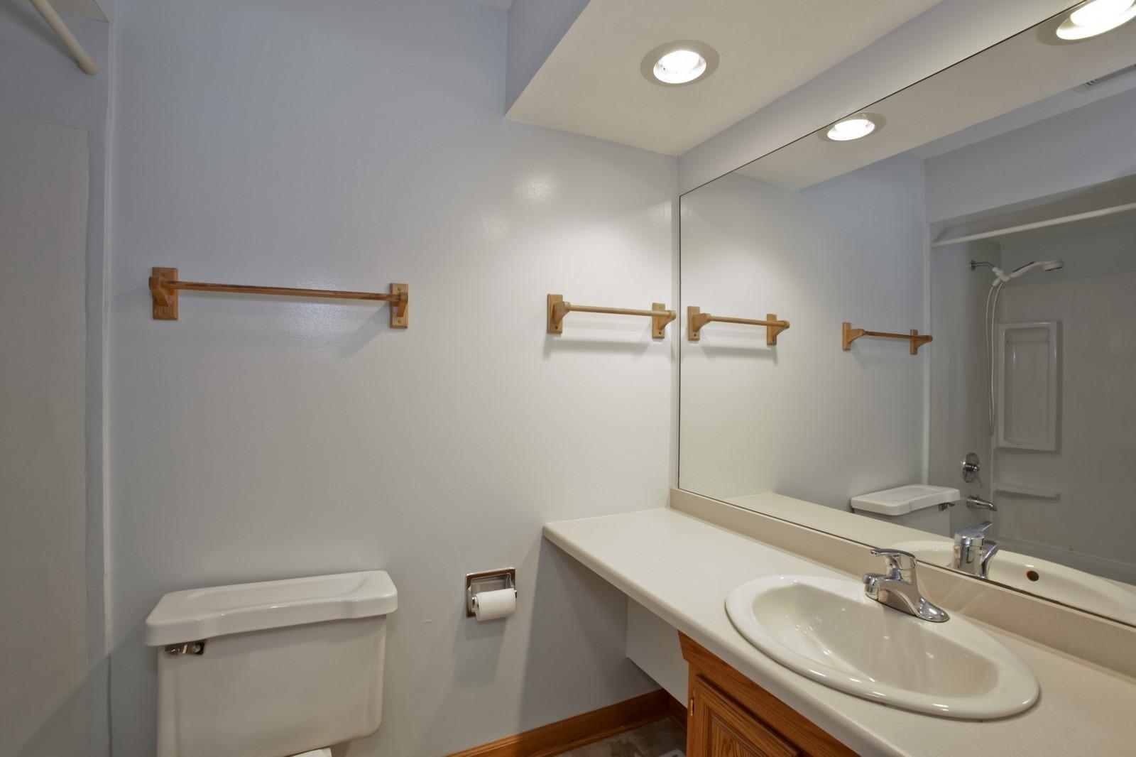 Real Estate Photography - 2811 Hobson Rd, Unit 3, Woodridge, IL, 60517 - Master Bathroom