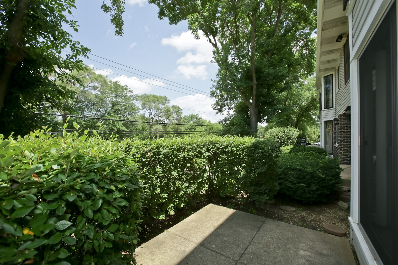 Real Estate Photography - 2811 Hobson Rd, Unit 3, Woodridge, IL, 60517 - Patio