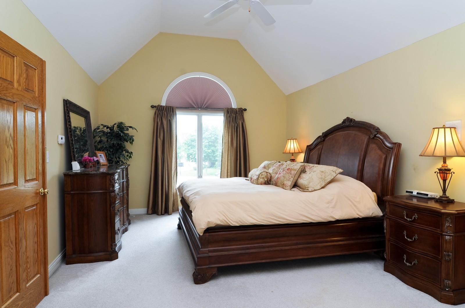 Real Estate Photography - 1026 Oakland Dr, Barrington, IL, 60010 - Master Bedroom