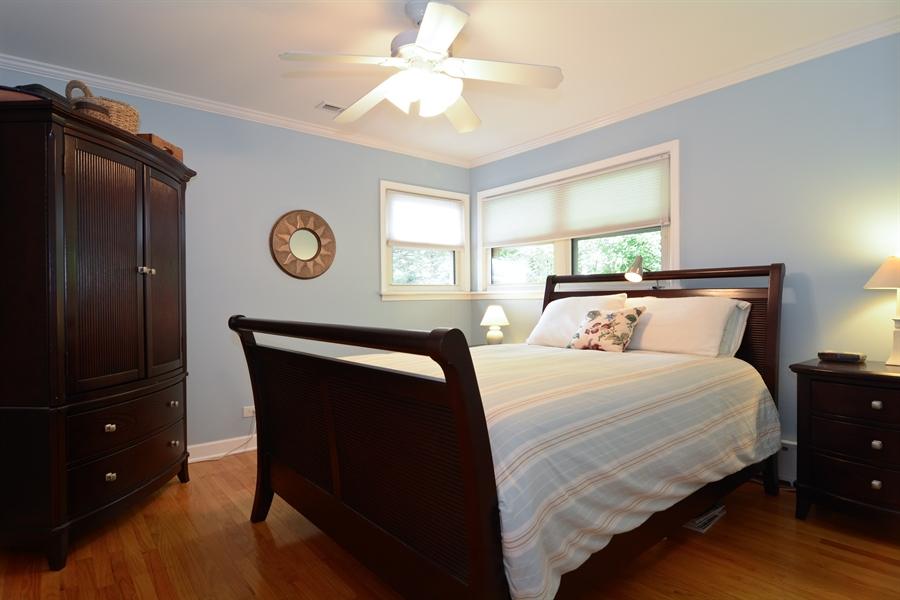 Real Estate Photography - 368 Lorraine St, Glen Ellyn, IL, 60137 - Master Bedroom