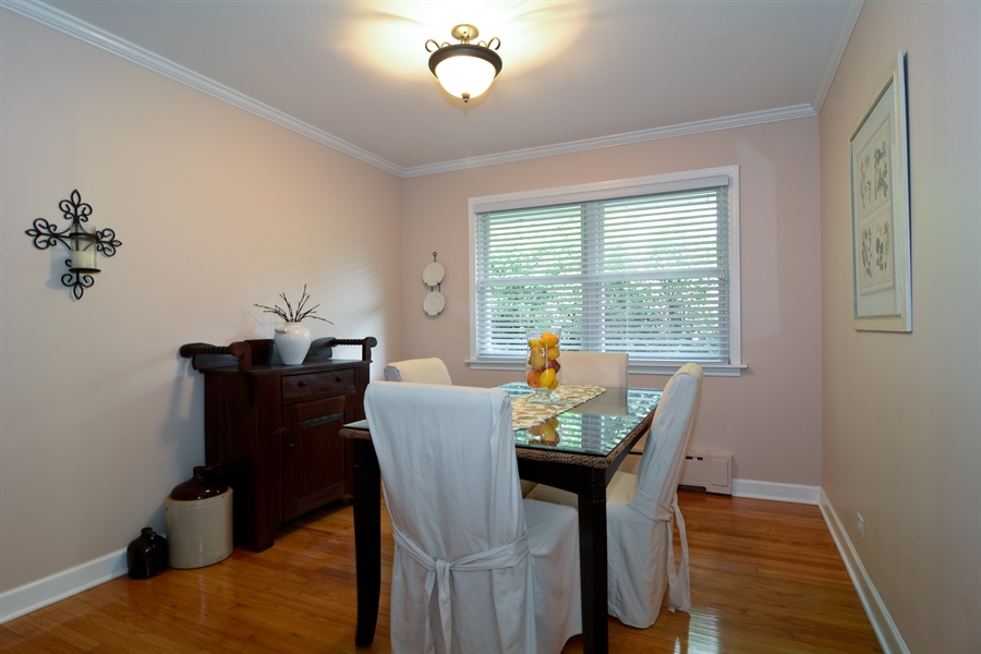 Real Estate Photography - 368 Lorraine St, Glen Ellyn, IL, 60137 - Dining Room