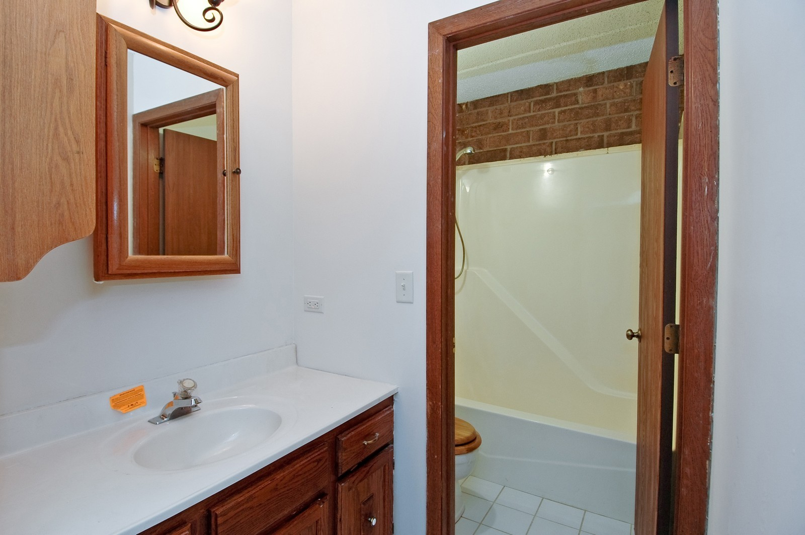 Real Estate Photography - 802 Kenneth, Elgin, IL, 60120 - Bathroom