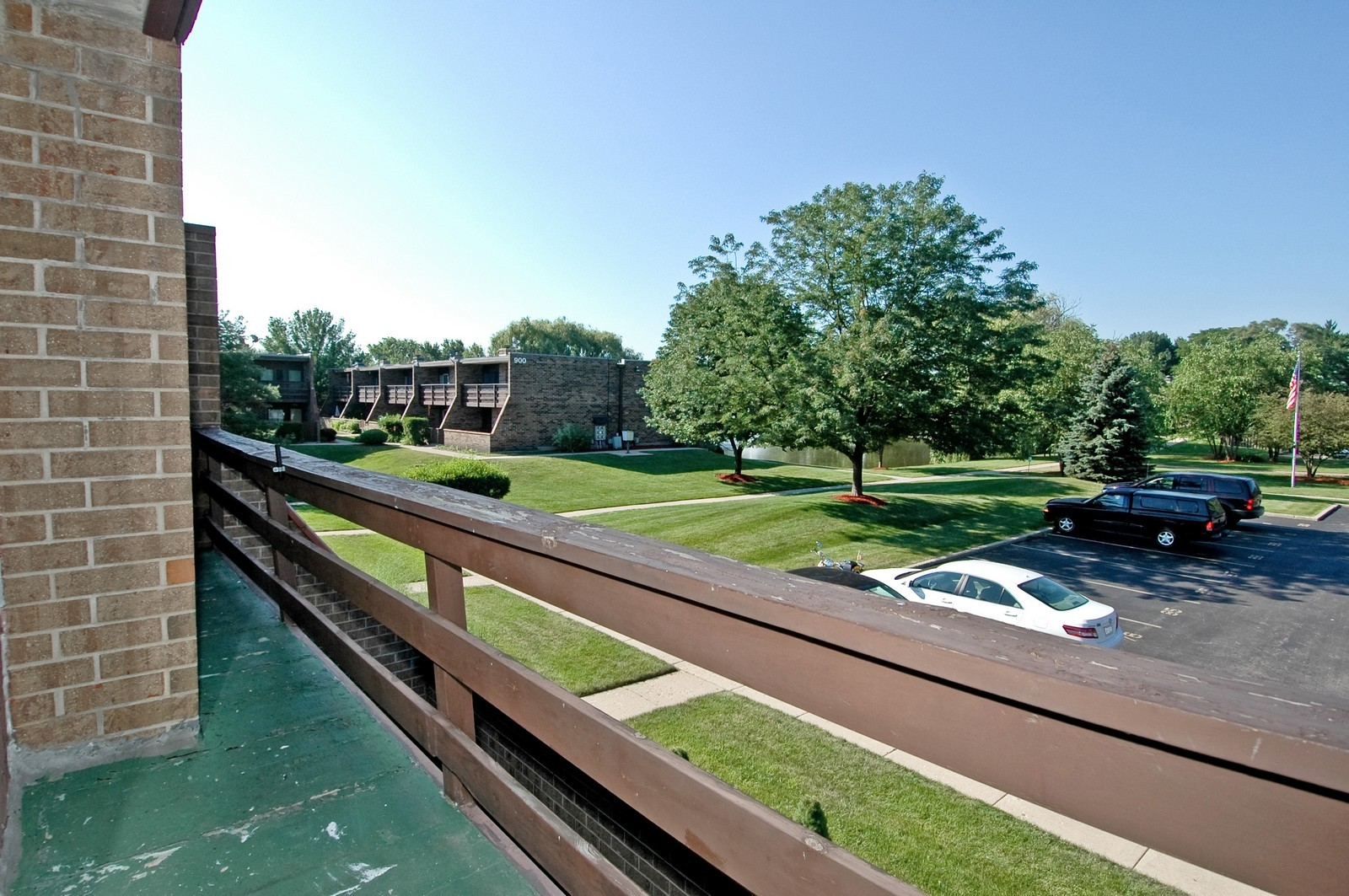 Real Estate Photography - 802 Kenneth, Elgin, IL, 60120 - Balcony