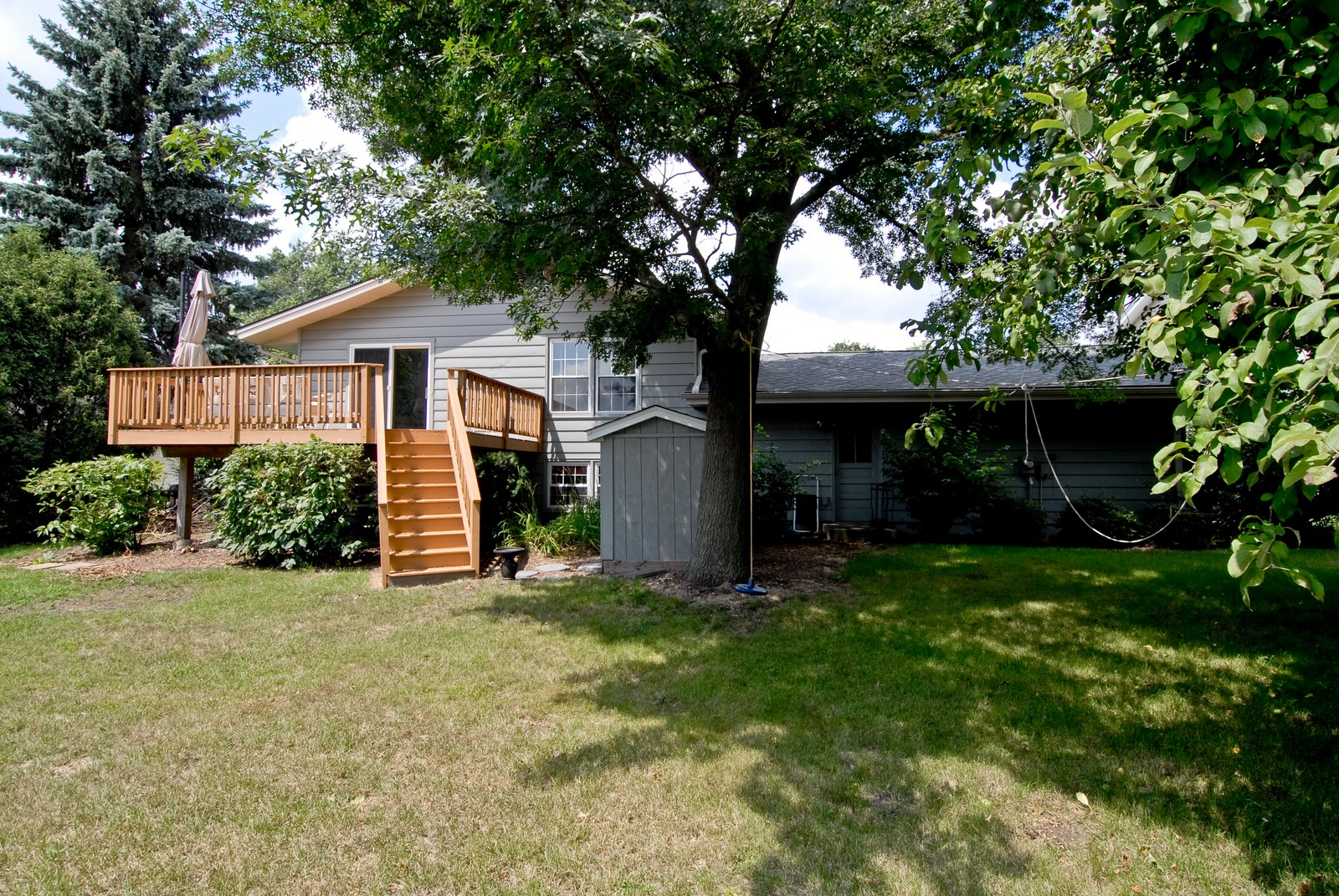 Real Estate Photography - 1112 S 11TH St, St Charles, IL, 60174 - Rear View