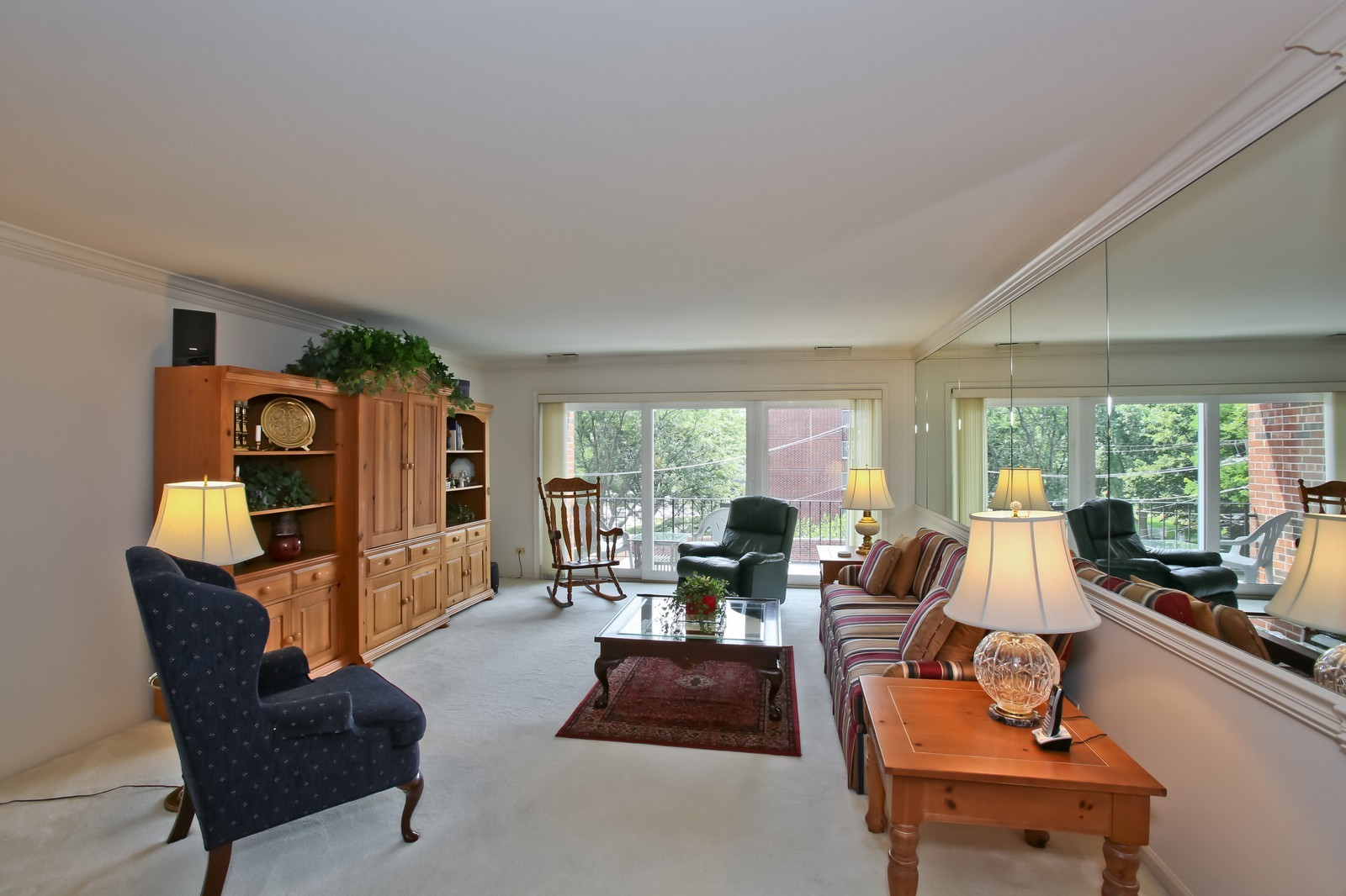Real Estate Photography - 519 N Main St, Unit 2DN, Glen Ellyn, IL, 60137 - Living Room, view 1