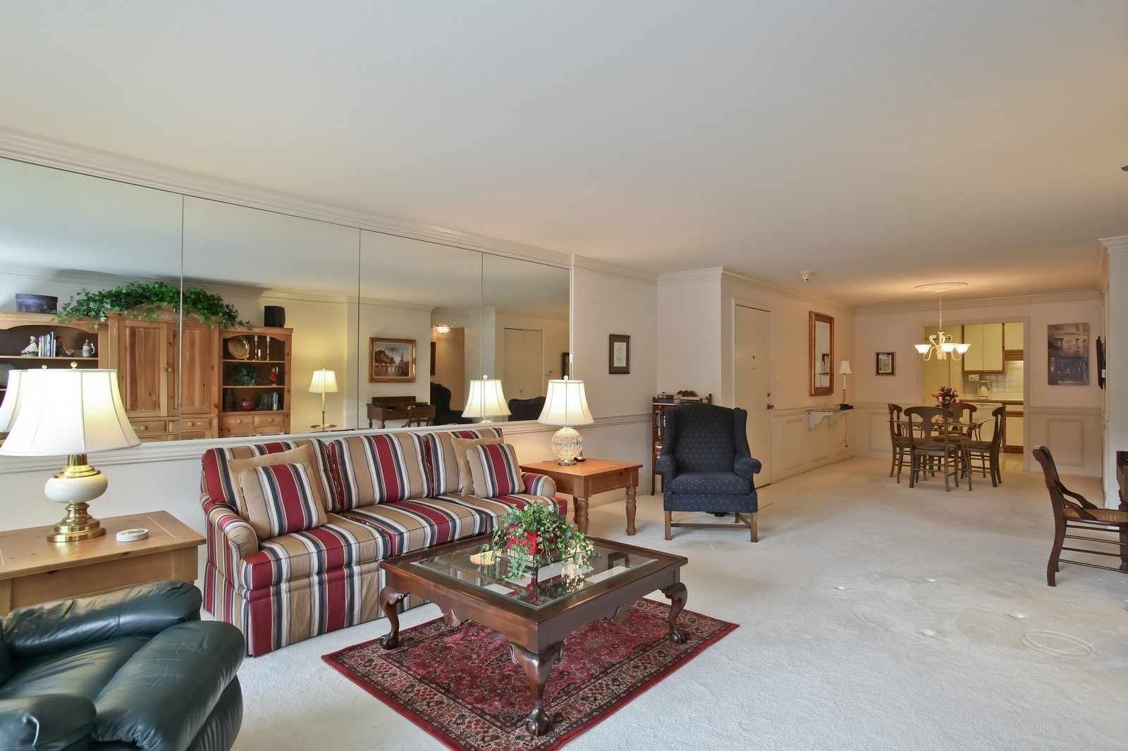 Real Estate Photography - 519 N Main St, Unit 2DN, Glen Ellyn, IL, 60137 - Living Room, view 2