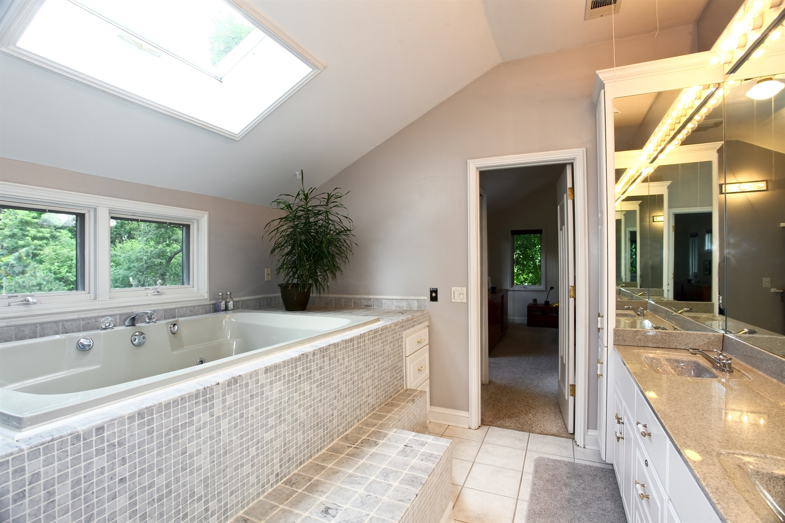 Real Estate Photography - 636 Front St, Lisle, IL, 60532 - Master Bathroom