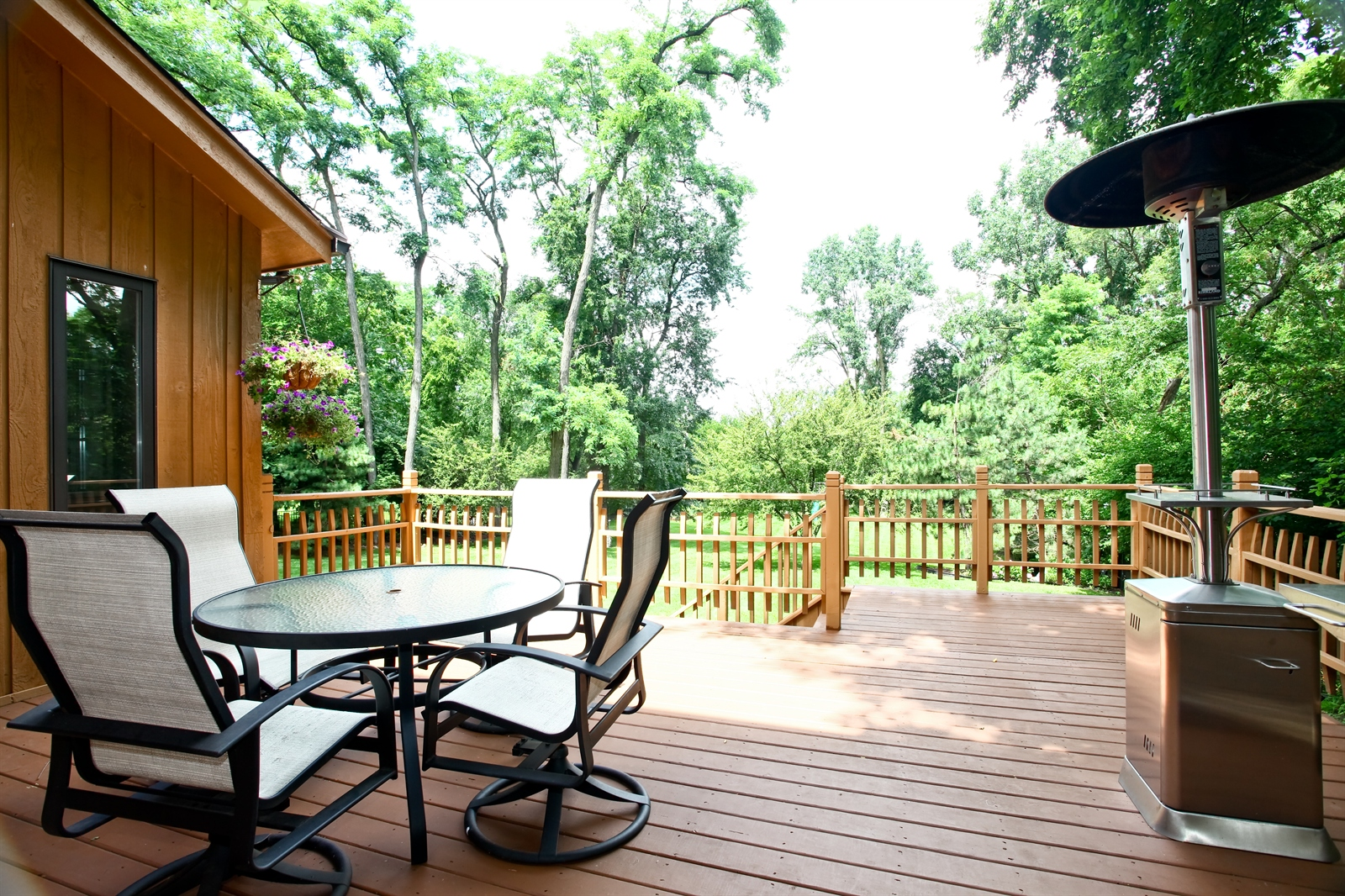 Real Estate Photography - 636 Front St, Lisle, IL, 60532 - Deck