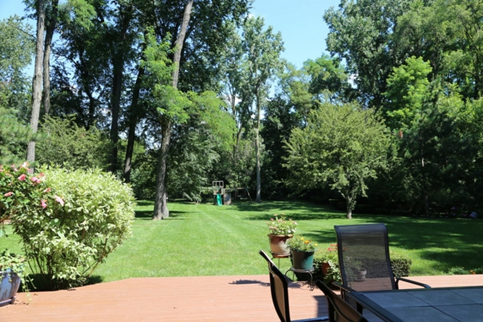 Real Estate Photography - 636 Front St, Lisle, IL, 60532 - Backyard