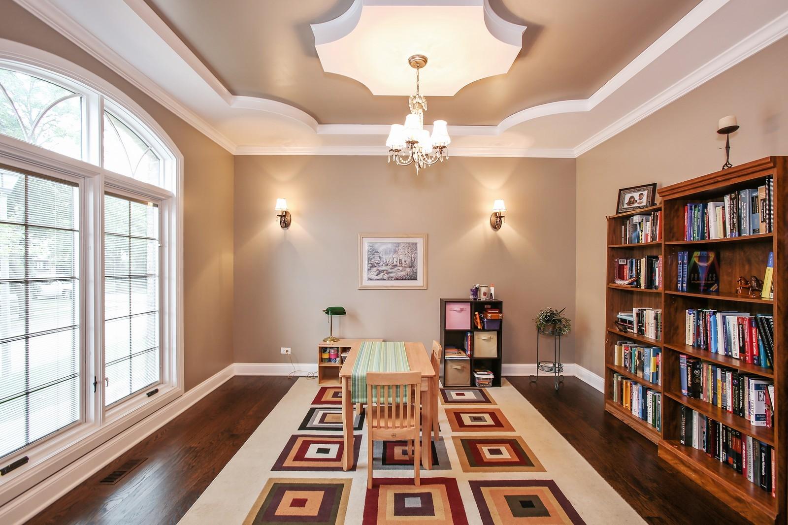 Real Estate Photography - 719 S Hillside Ave, Elmhurst, IL, 60126 - Living Room