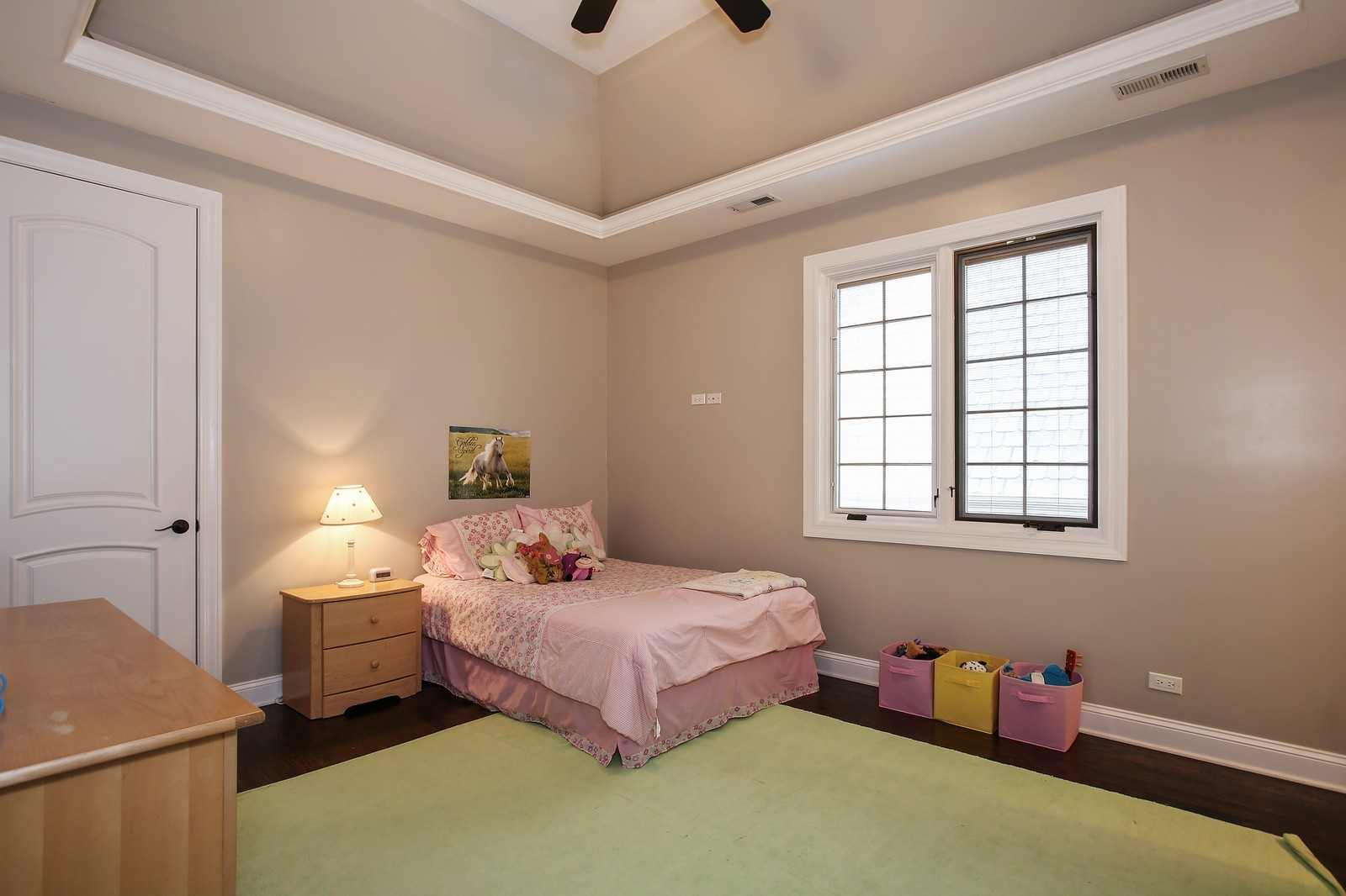 Real Estate Photography - 719 S Hillside Ave, Elmhurst, IL, 60126 - 4th Bedroom