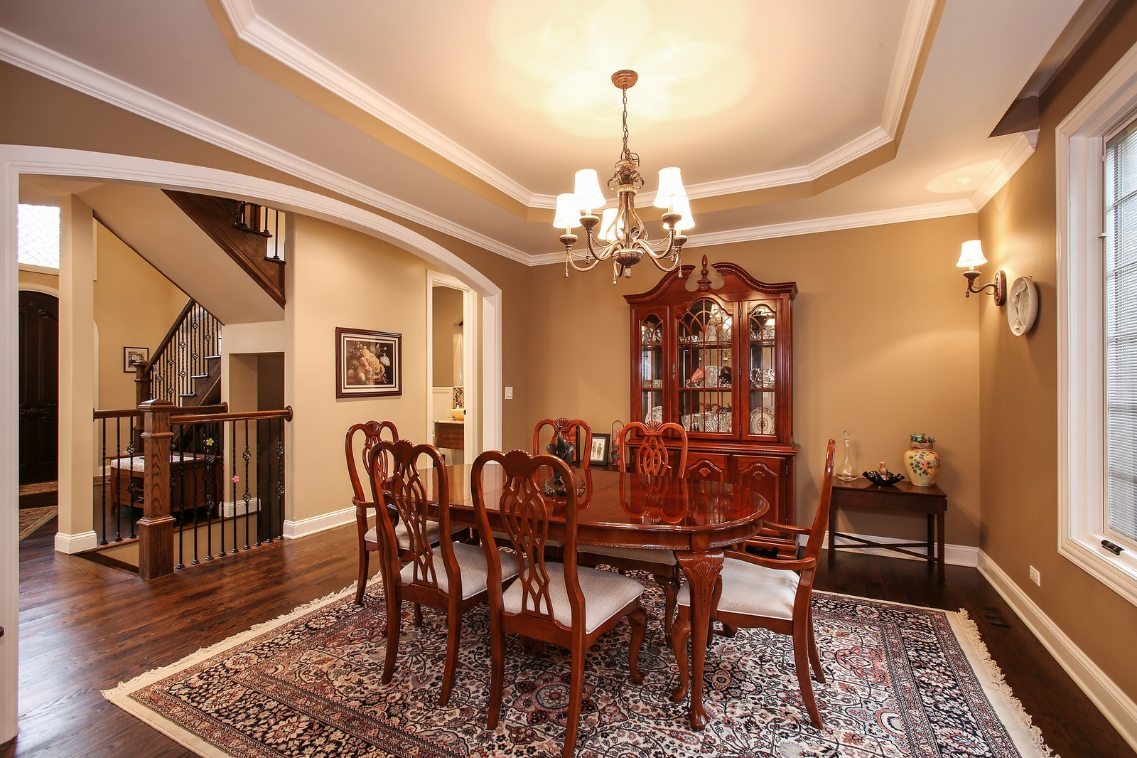 Real Estate Photography - 719 S Hillside Ave, Elmhurst, IL, 60126 - Dining Room