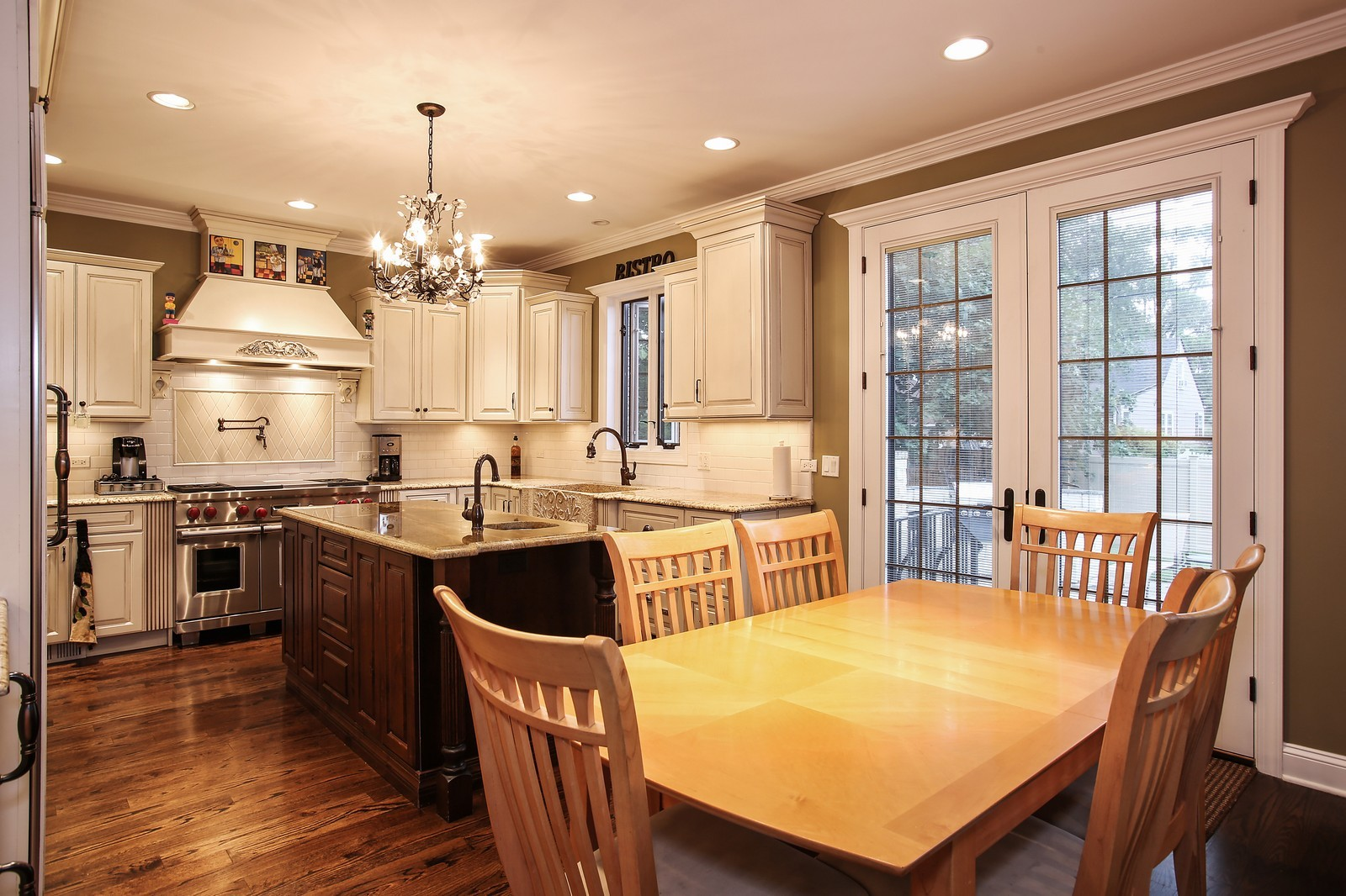 Real Estate Photography - 719 S Hillside Ave, Elmhurst, IL, 60126 - Breakfast Area