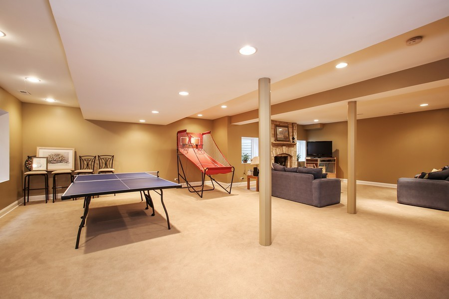 Real Estate Photography - 719 S Hillside Ave, Elmhurst, IL, 60126 - Lower Level