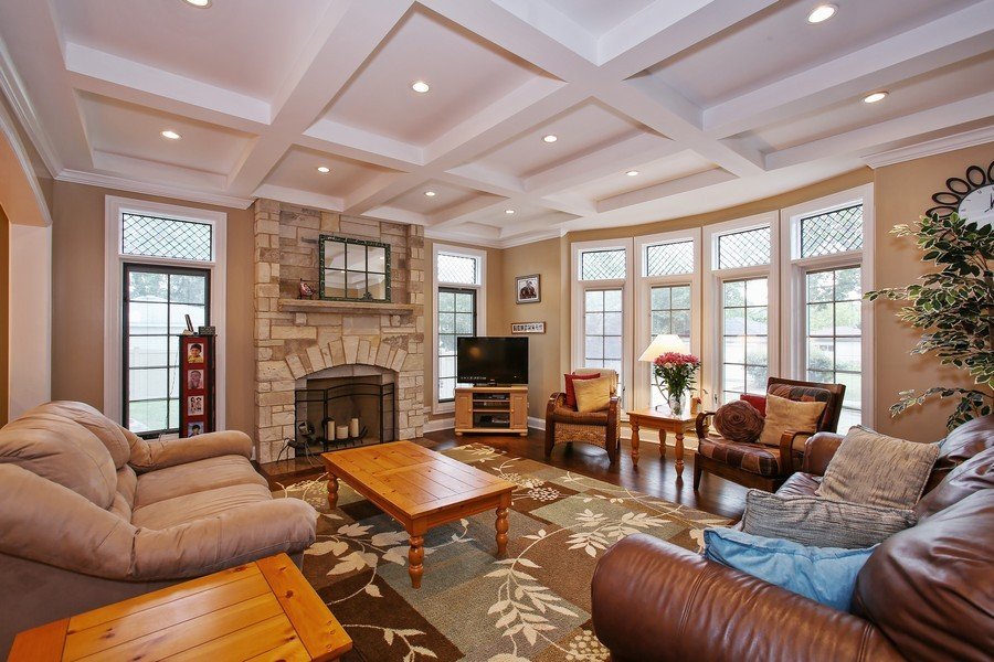 Real Estate Photography - 719 S Hillside Ave, Elmhurst, IL, 60126 - Family Room