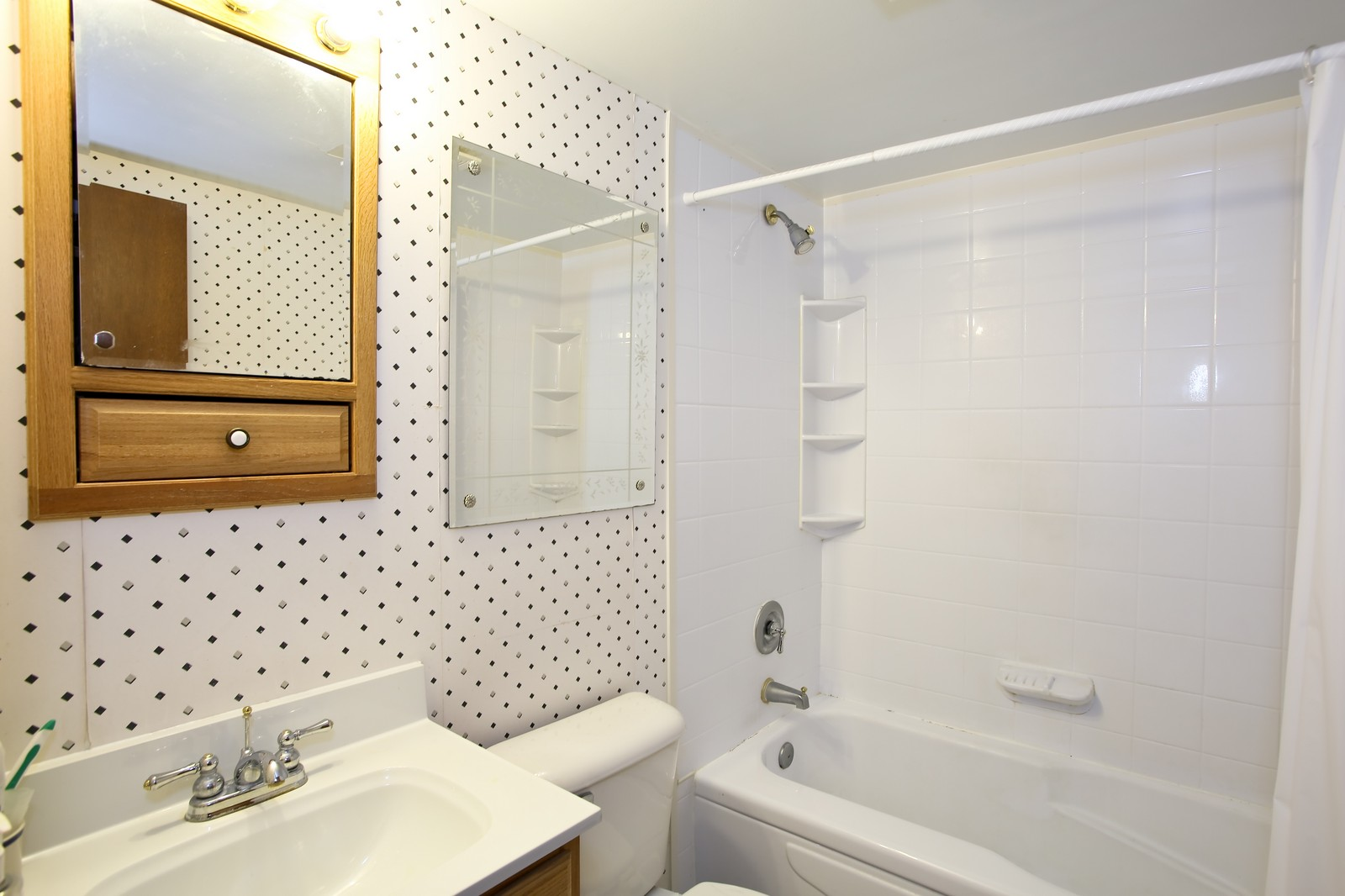 Real Estate Photography - 4946 Douglas Rd, Unit 102, Downers Grove, IL, 60515 - Bathroom
