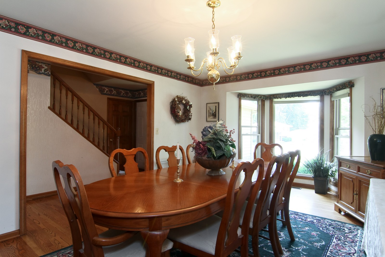 Real Estate Photography - 527 Lindley Rd, Westmont, IL, 60559 - Dining Room