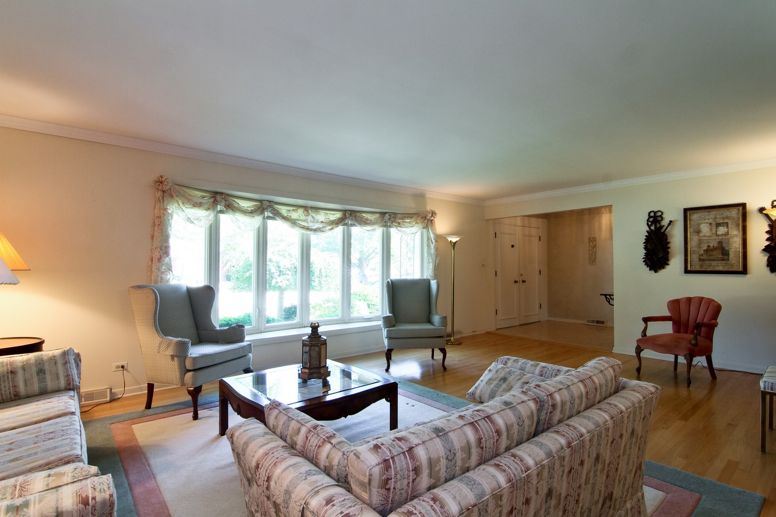 Real Estate Photography - 829 Columbia, Darien, IL, 60561 - Living Room