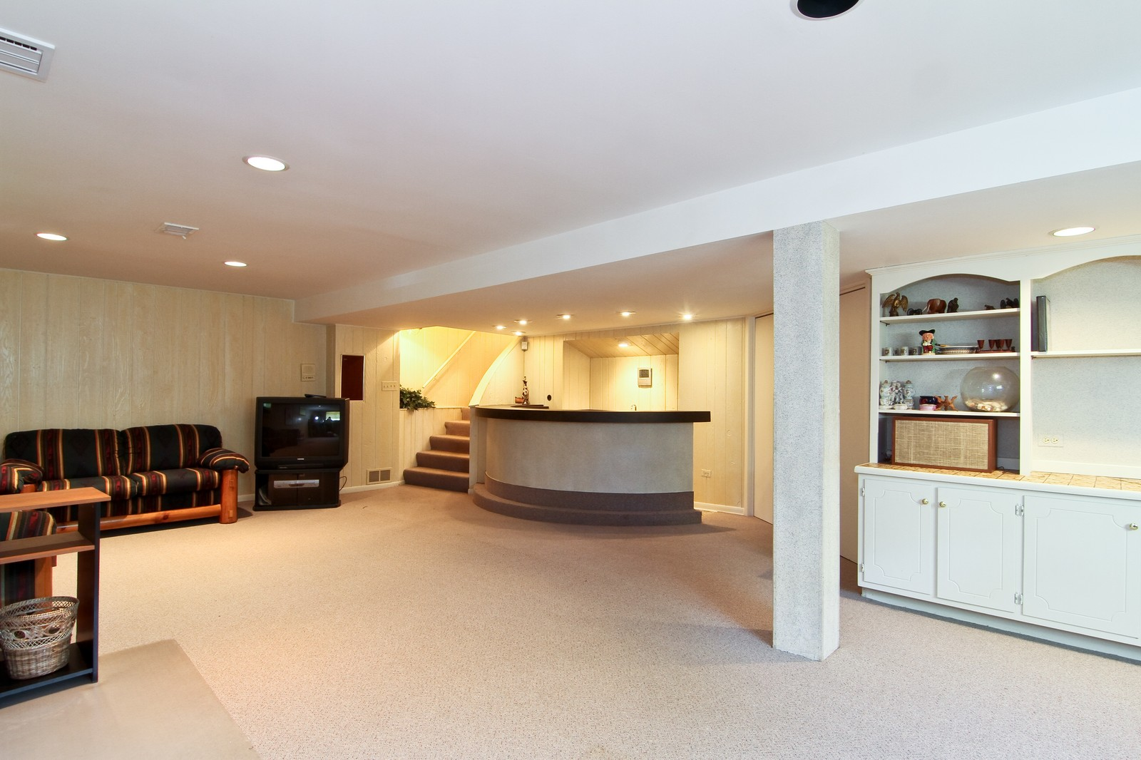 Real Estate Photography - 829 Columbia, Darien, IL, 60561 - Lower Level