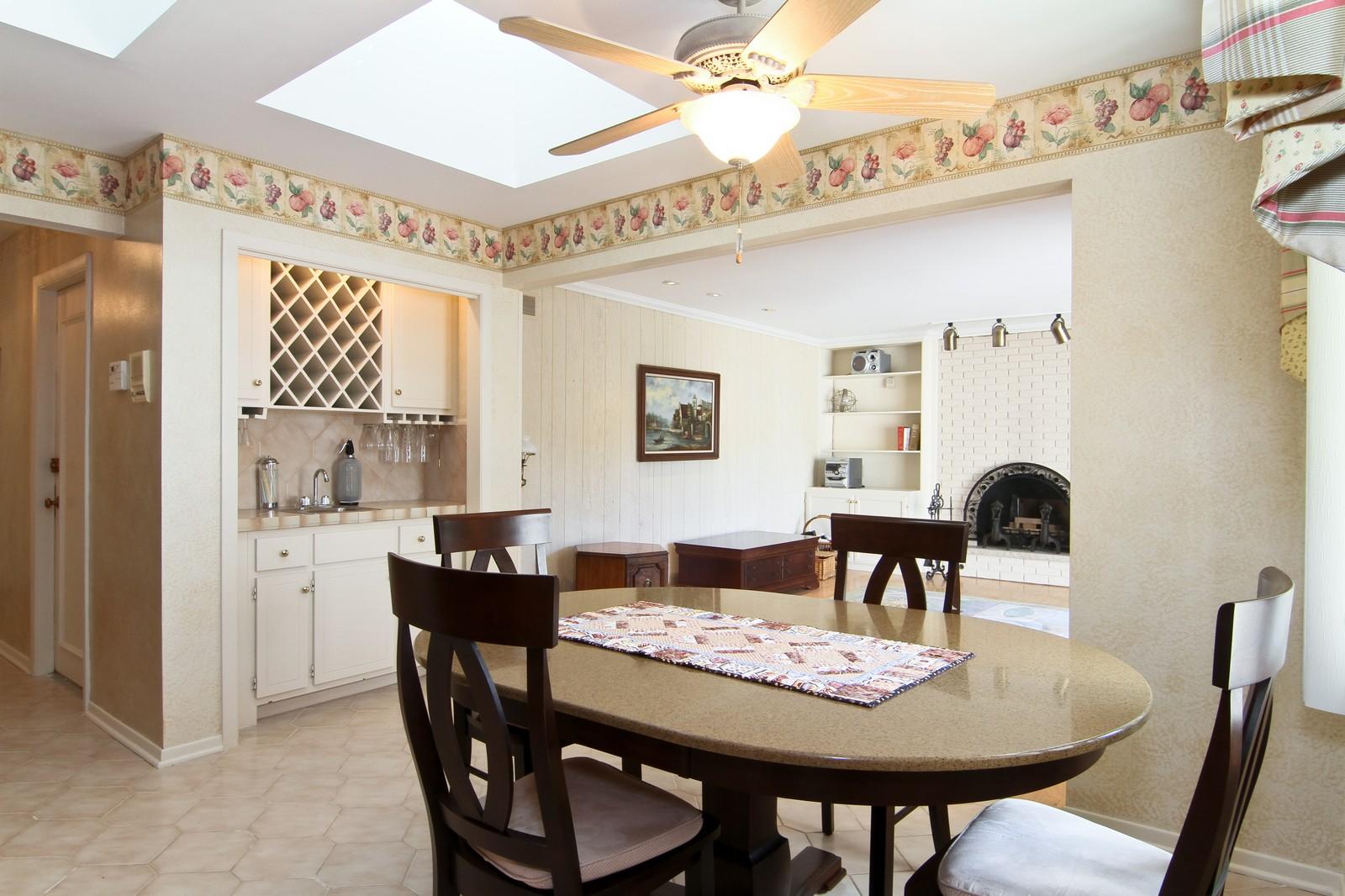 Real Estate Photography - 829 Columbia, Darien, IL, 60561 - Breakfast Area