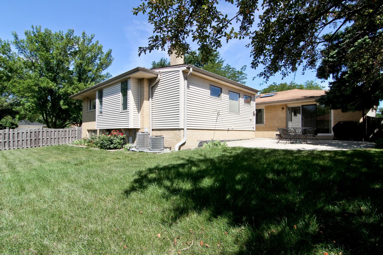 Real Estate Photography - 829 Columbia, Darien, IL, 60561 - Rear View
