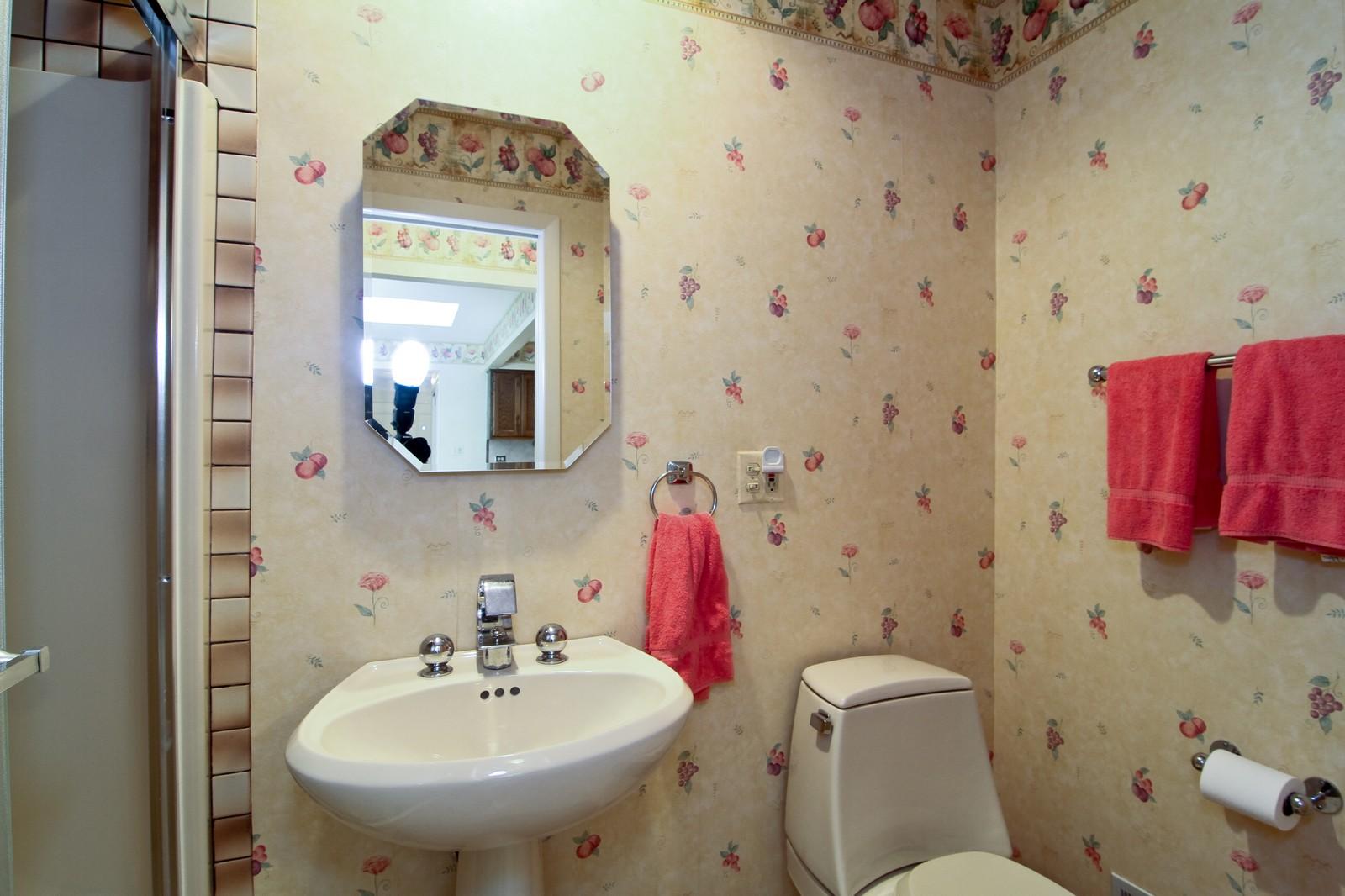 Real Estate Photography - 829 Columbia, Darien, IL, 60561 - 2nd Bathroom