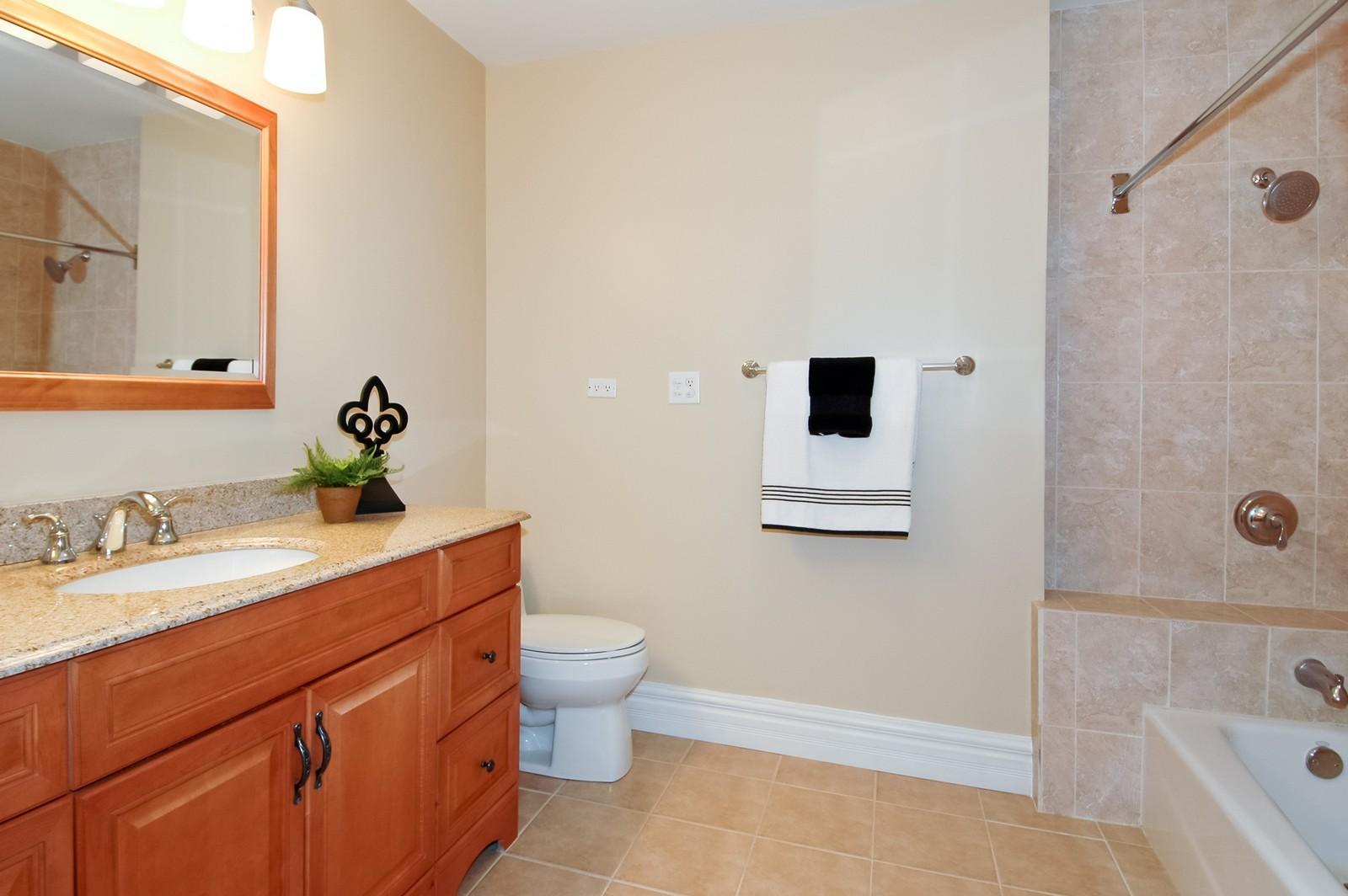 Real Estate Photography - 621 Miller Rd, North Barrington, IL, 60010 - Master Bathroom