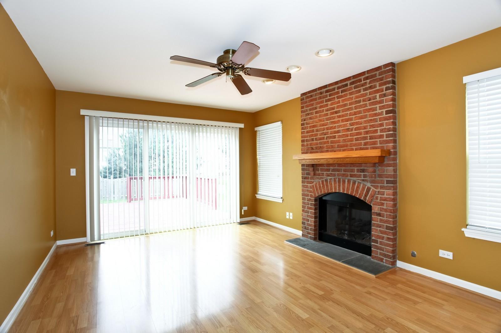 Real Estate Photography - 2412 Lexington Ln, Naperville, IL, 60540 - Family Room