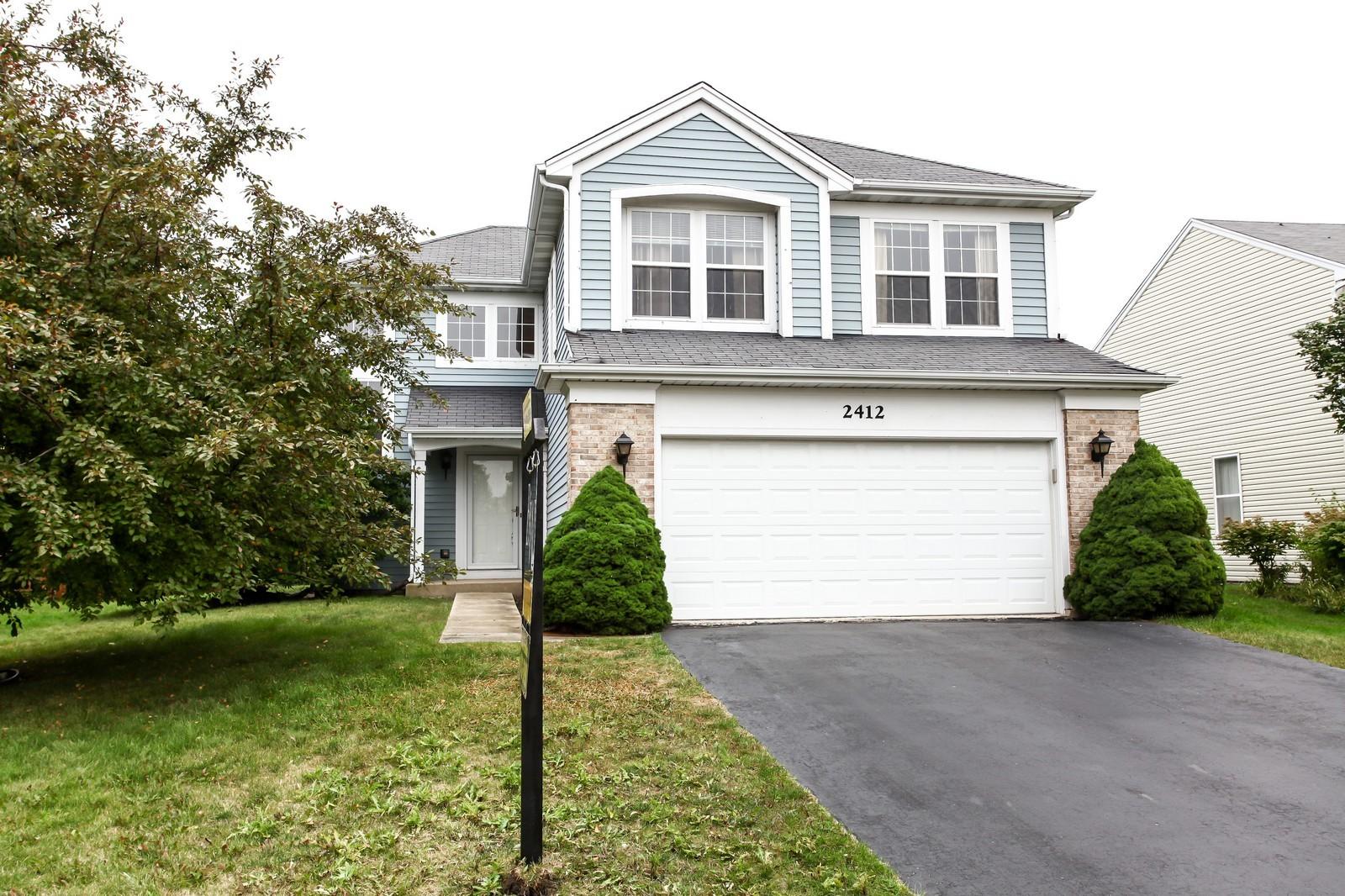 Real Estate Photography - 2412 Lexington Ln, Naperville, IL, 60540 - Front View