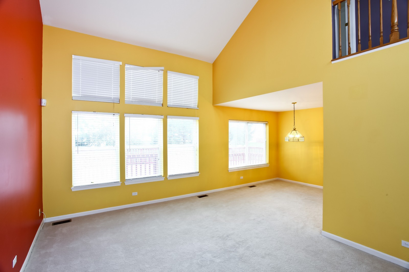 Real Estate Photography - 2412 Lexington Ln, Naperville, IL, 60540 - Living Room / Dining Room