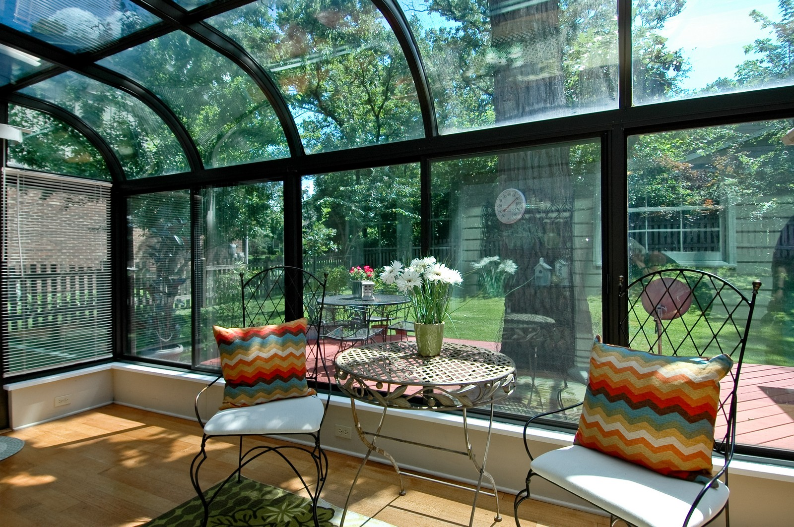 Real Estate Photography - 713 Concord Ln, Barrington, IL, 60010 - Sunroom View