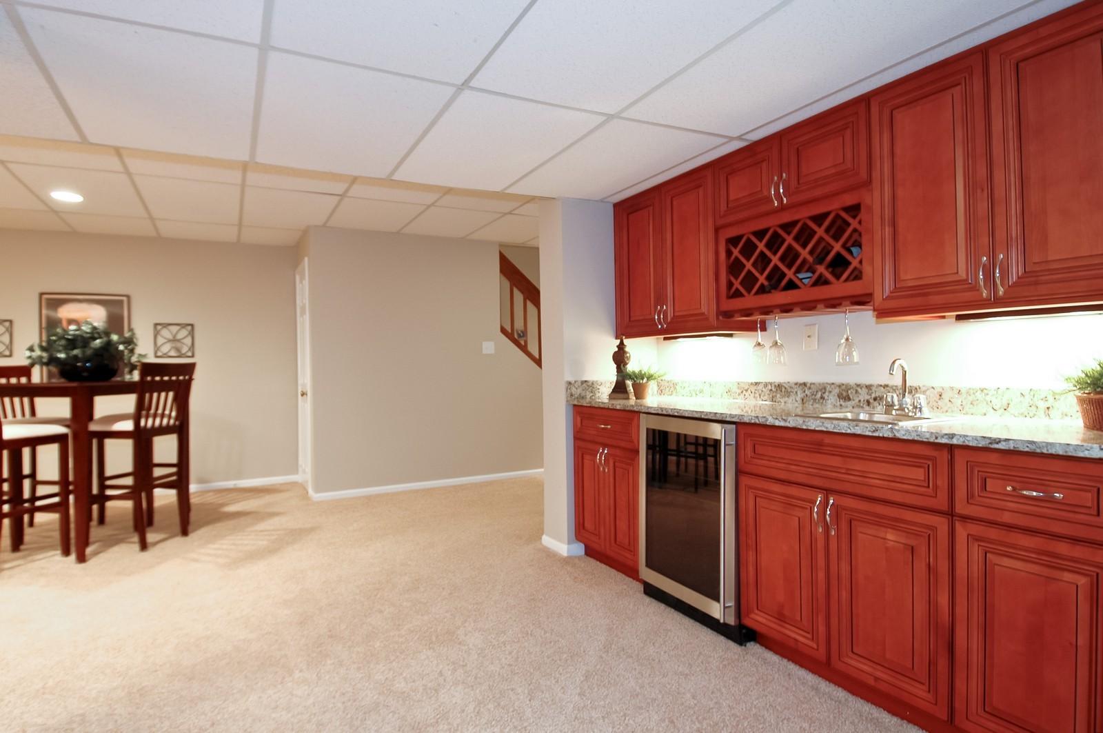 Real Estate Photography - 297 Oak Hill Rd, Lake Barrington, IL, 60010 - Wet Bar