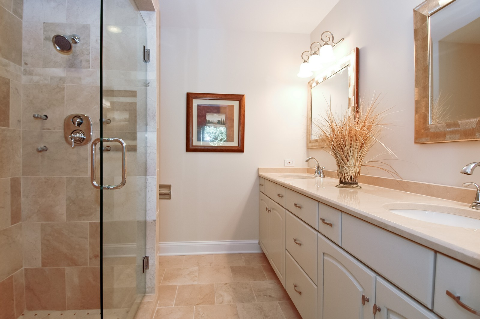 Real Estate Photography - 297 Oak Hill Rd, Lake Barrington, IL, 60010 - Master Bathroom