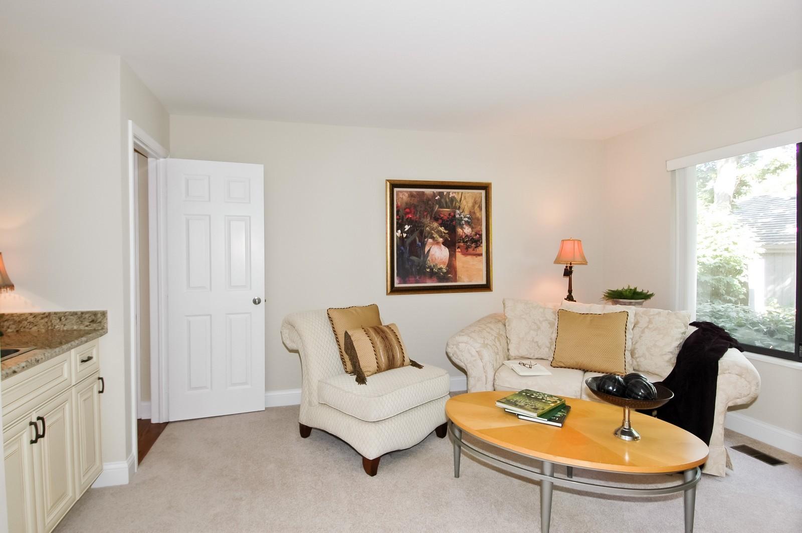 Real Estate Photography - 297 Oak Hill Rd, Lake Barrington, IL, 60010 - Den