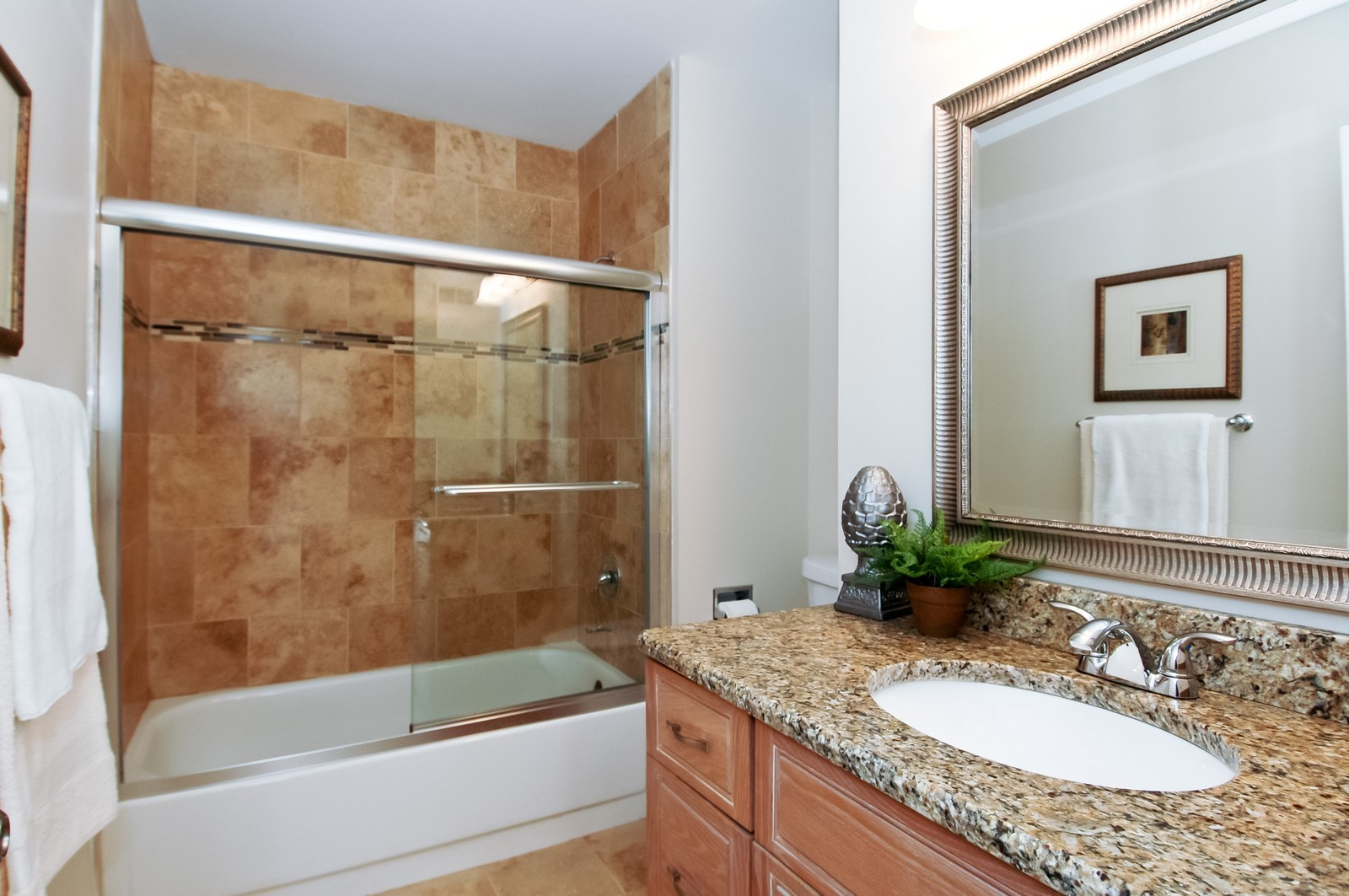 Real Estate Photography - 297 Oak Hill Rd, Lake Barrington, IL, 60010 - Bathroom