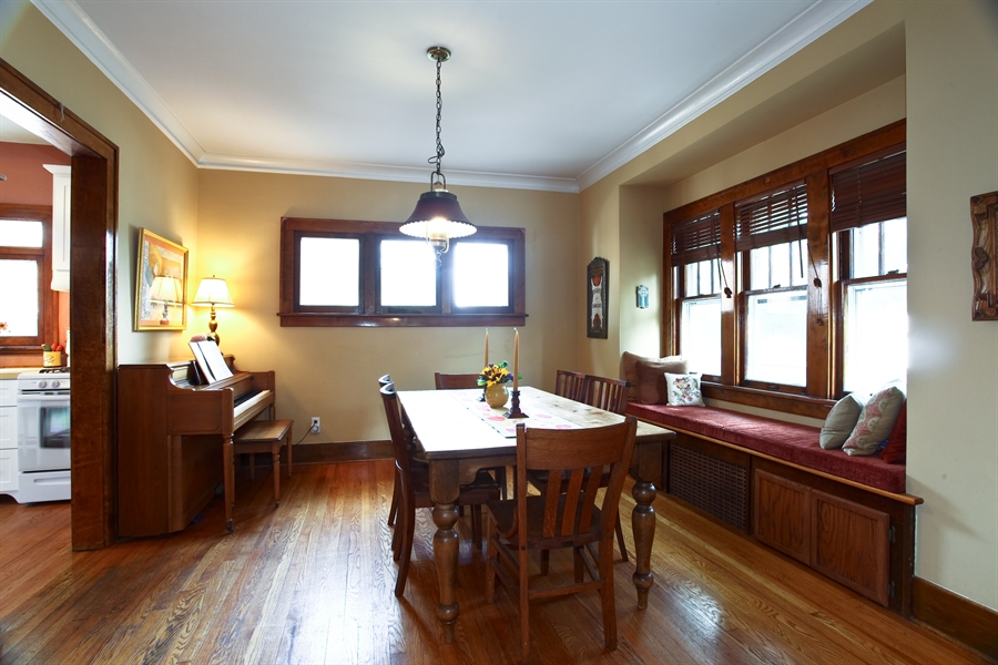 Real Estate Photography - 410 Grant St, Downers Grove, IL, 60515 - Dining Room