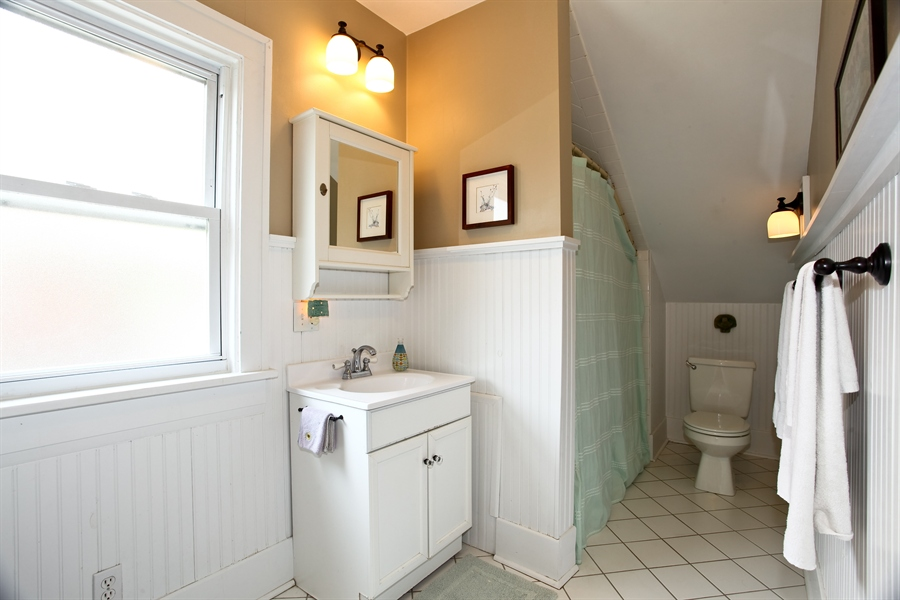 Real Estate Photography - 410 Grant St, Downers Grove, IL, 60515 - Bathroom