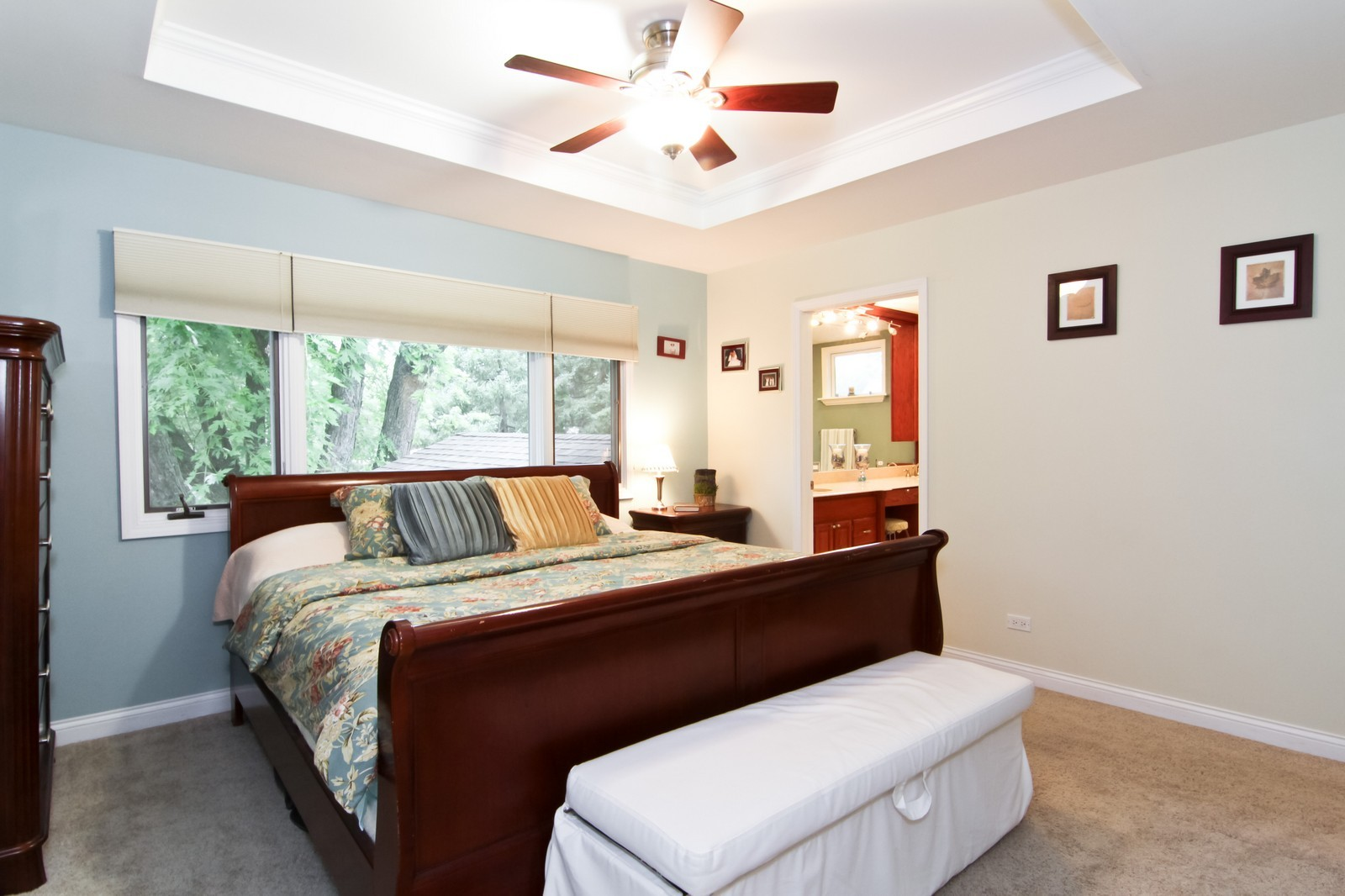 Real Estate Photography - 6224 Blodgett Ave, Downers Grove, IL, 60516 - Master Bedroom