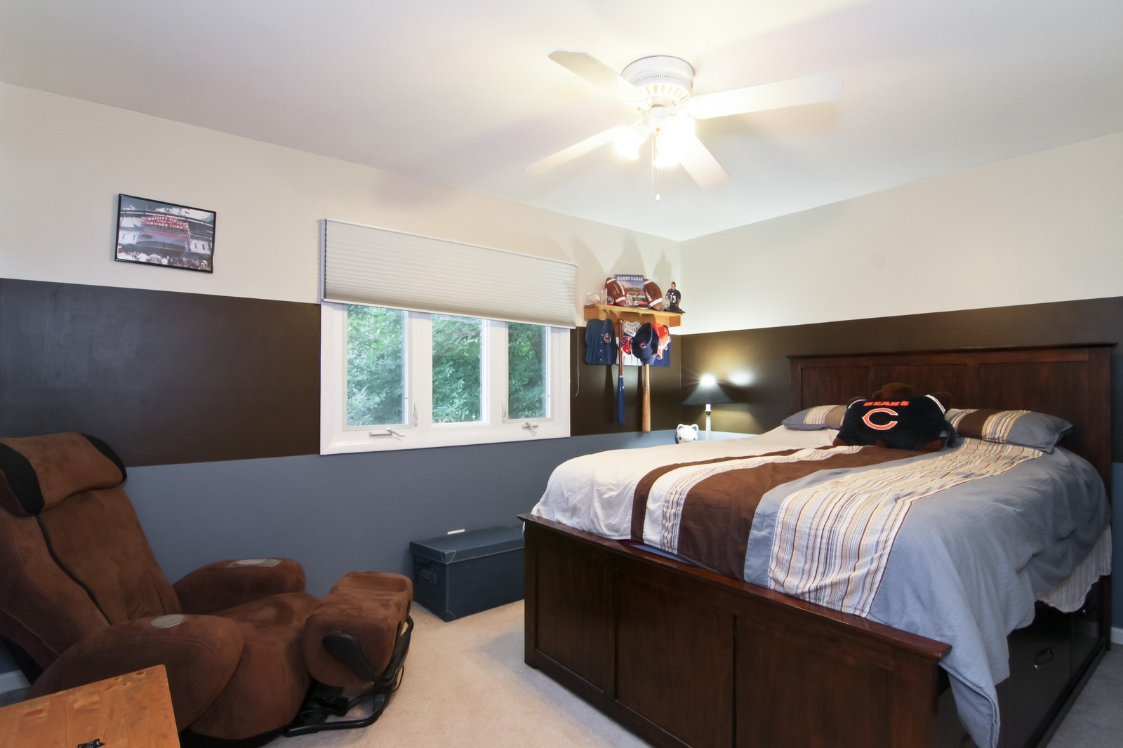 Real Estate Photography - 6224 Blodgett Ave, Downers Grove, IL, 60516 - 3rd Bedroom