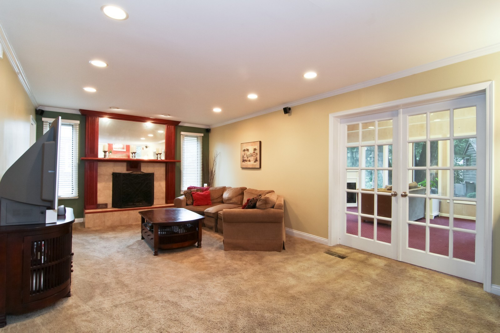 Real Estate Photography - 6224 Blodgett Ave, Downers Grove, IL, 60516 - Family Room Alternate View