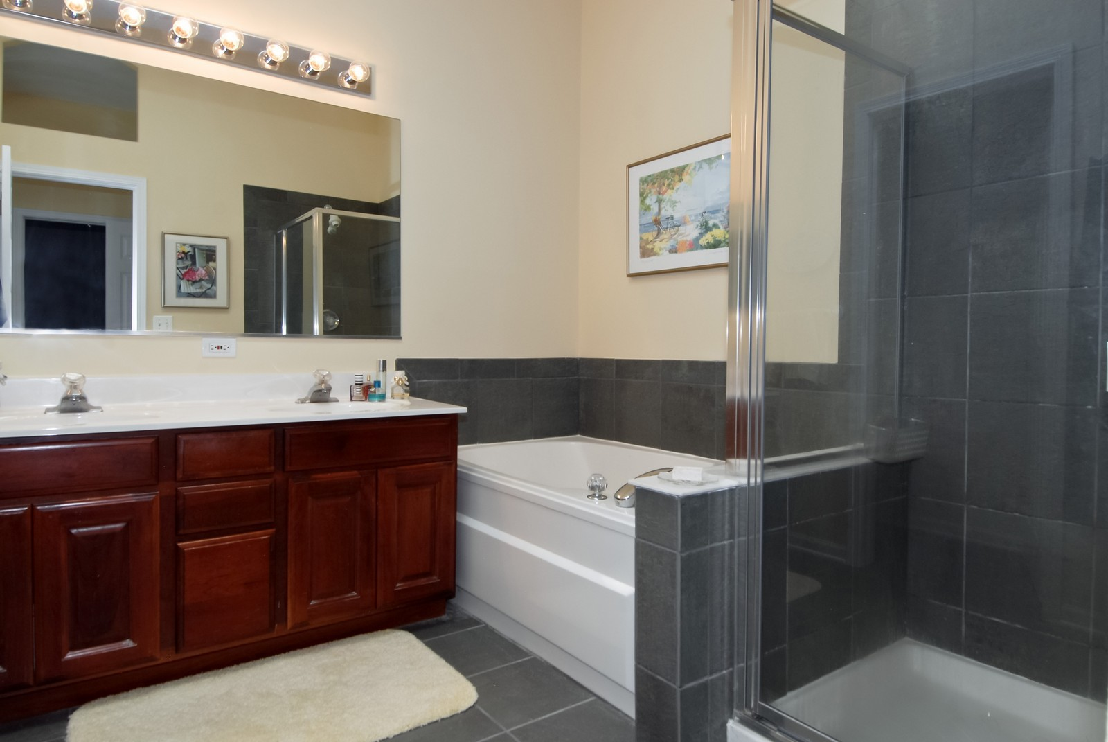 Real Estate Photography - 420 Cannon Dr, Geneva, IL, 60134 - Master Bathroom