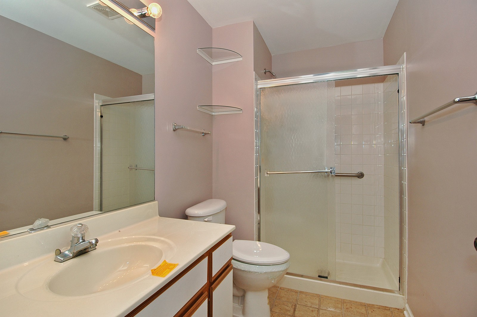 Real Estate Photography - 360 Crystal Ridge Dr, Unit A, Crystal Lake, IL, 60014 - Master Bathroom