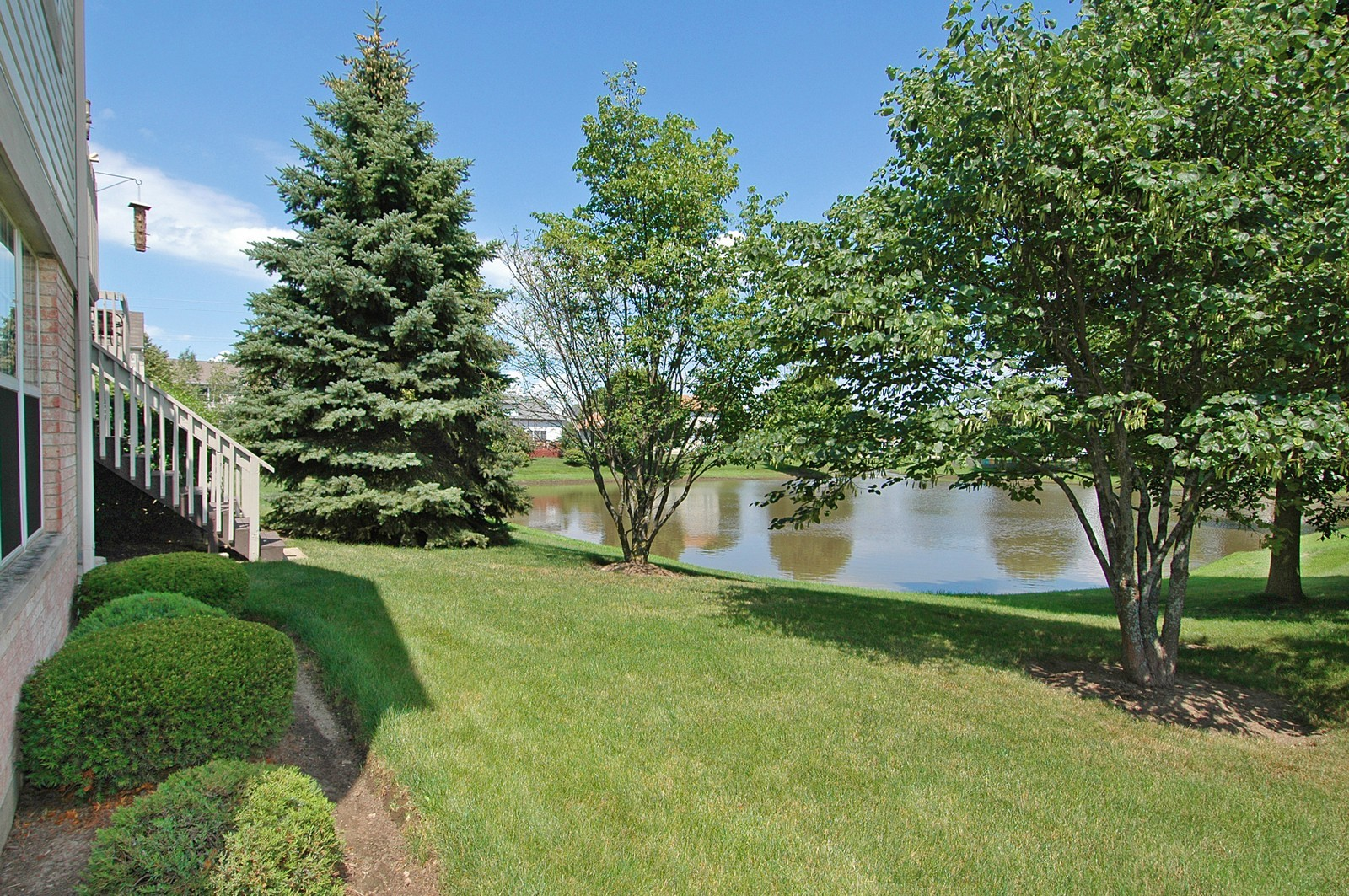 Real Estate Photography - 360 Crystal Ridge Dr, Unit A, Crystal Lake, IL, 60014 - Back Yard