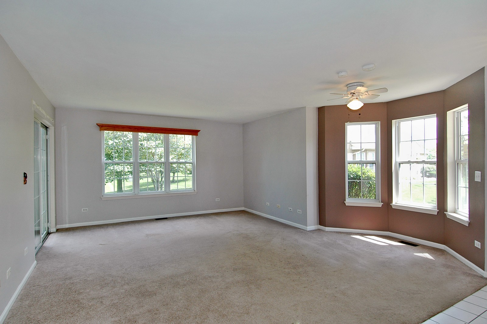Real Estate Photography - 360 Crystal Ridge Dr, Unit A, Crystal Lake, IL, 60014 - Living Room / Dining Room
