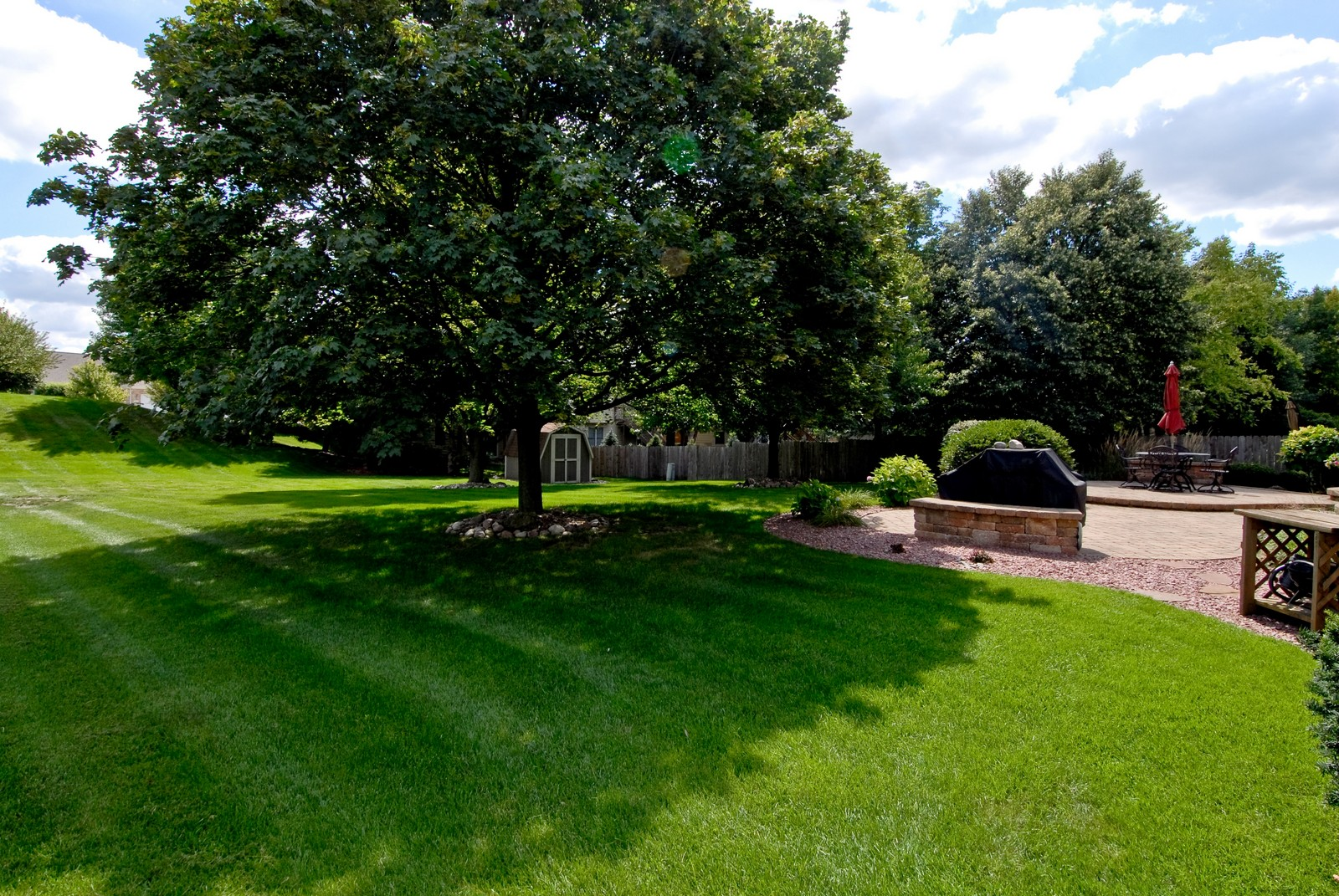 Real Estate Photography - 913 Lewis Rd, Geneva, IL, 60134 - Back Yard