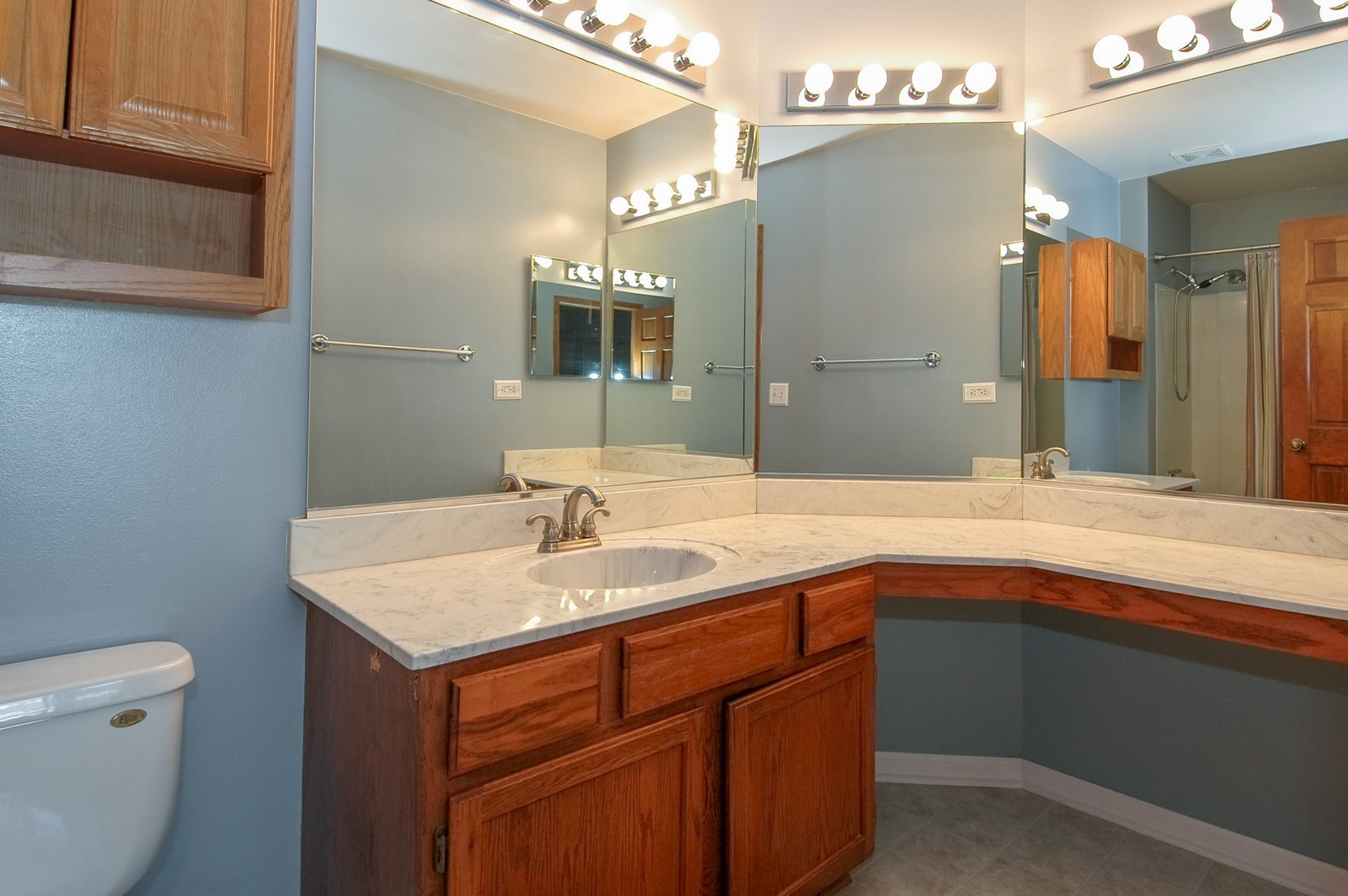 Real Estate Photography - 1700 Brompton Ln, Crystal Lake, IL, 60014 - Master Bathroom