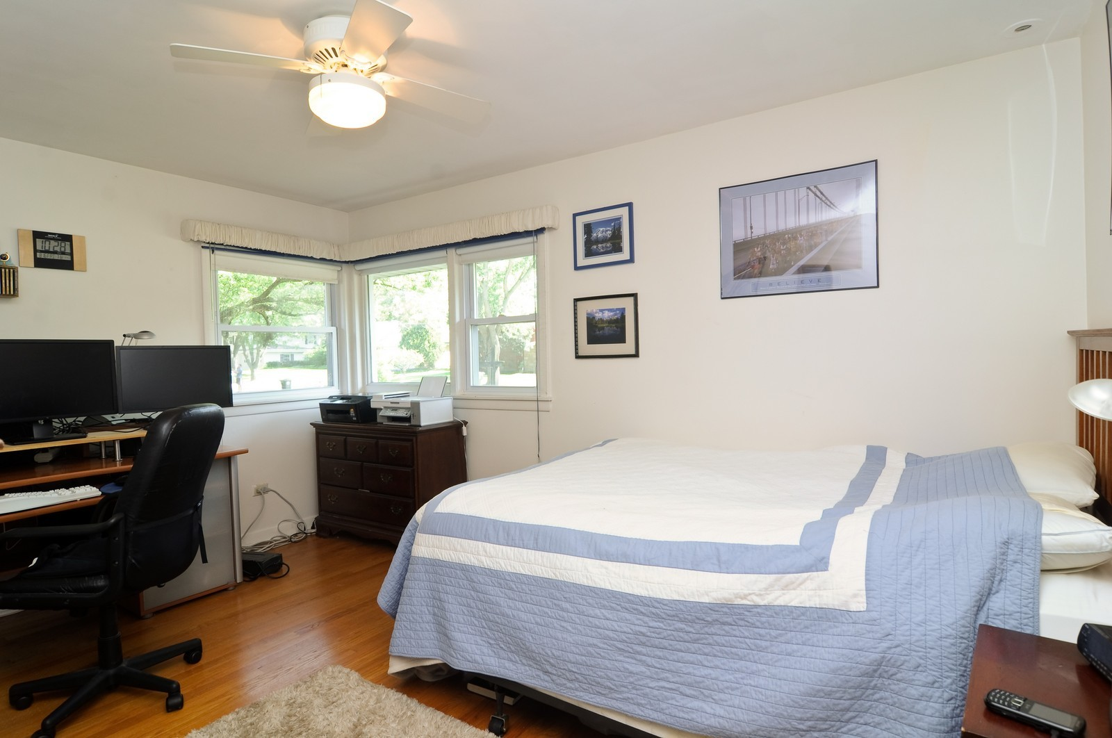 Real Estate Photography - 240 Sharon Dr, Barrington, IL, 60010 - 3rd Bedroom