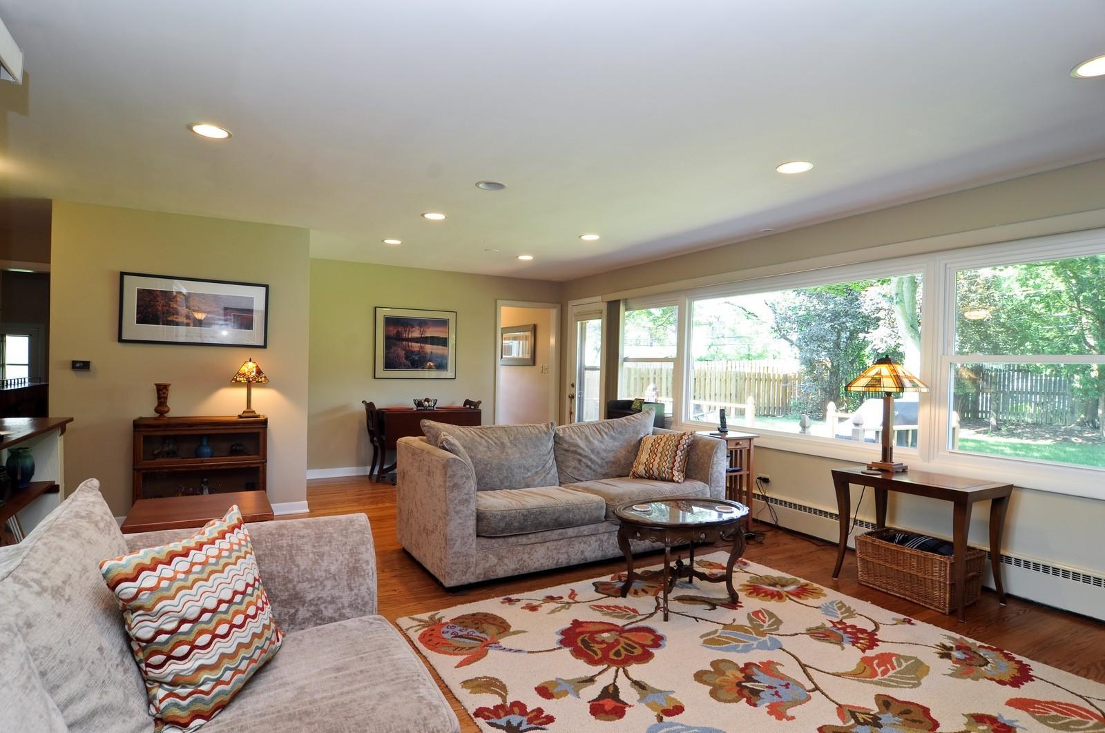 Real Estate Photography - 240 Sharon Dr, Barrington, IL, 60010 - Living Room